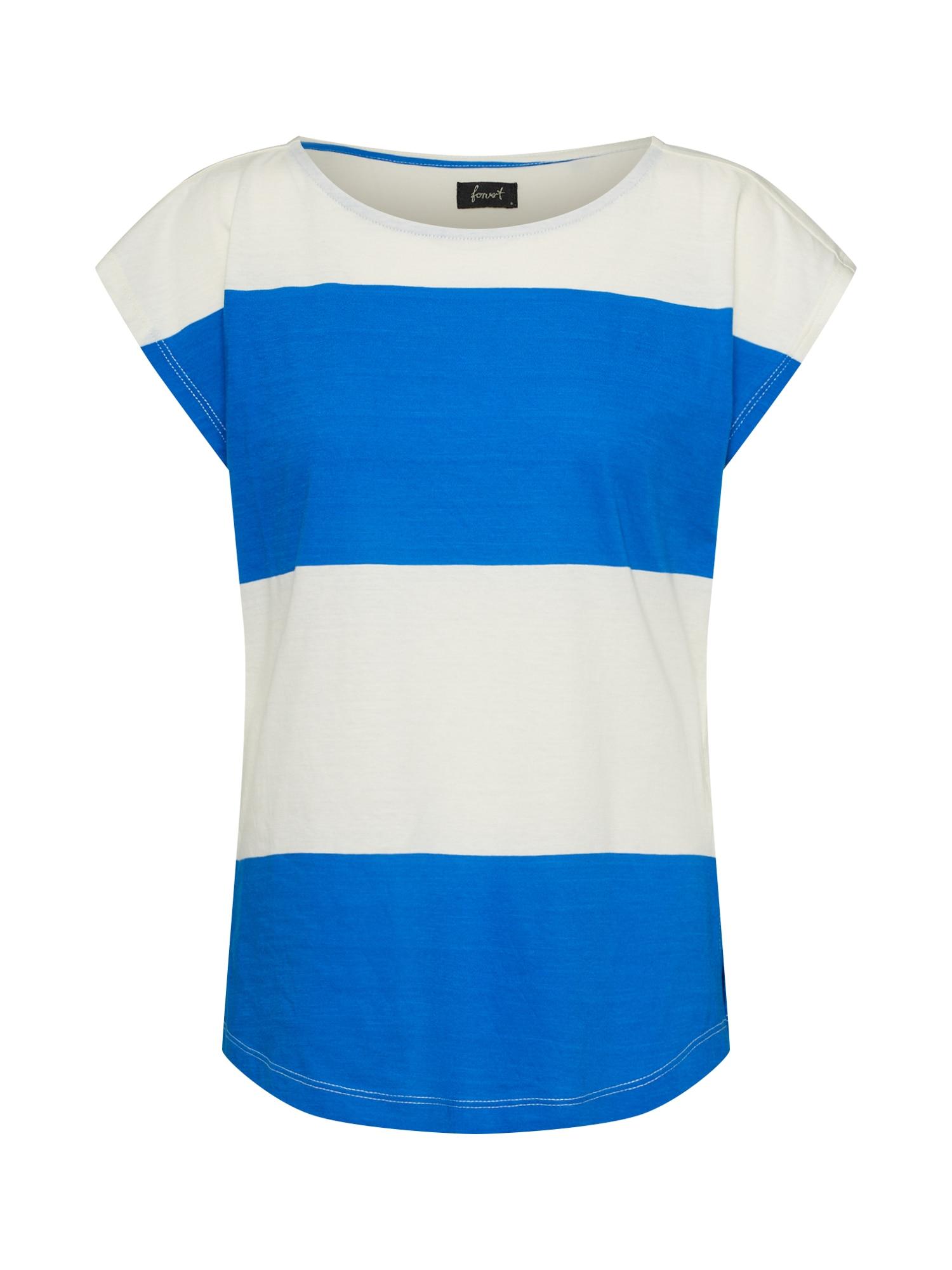 Tričko Taps béžová modrá Forvert