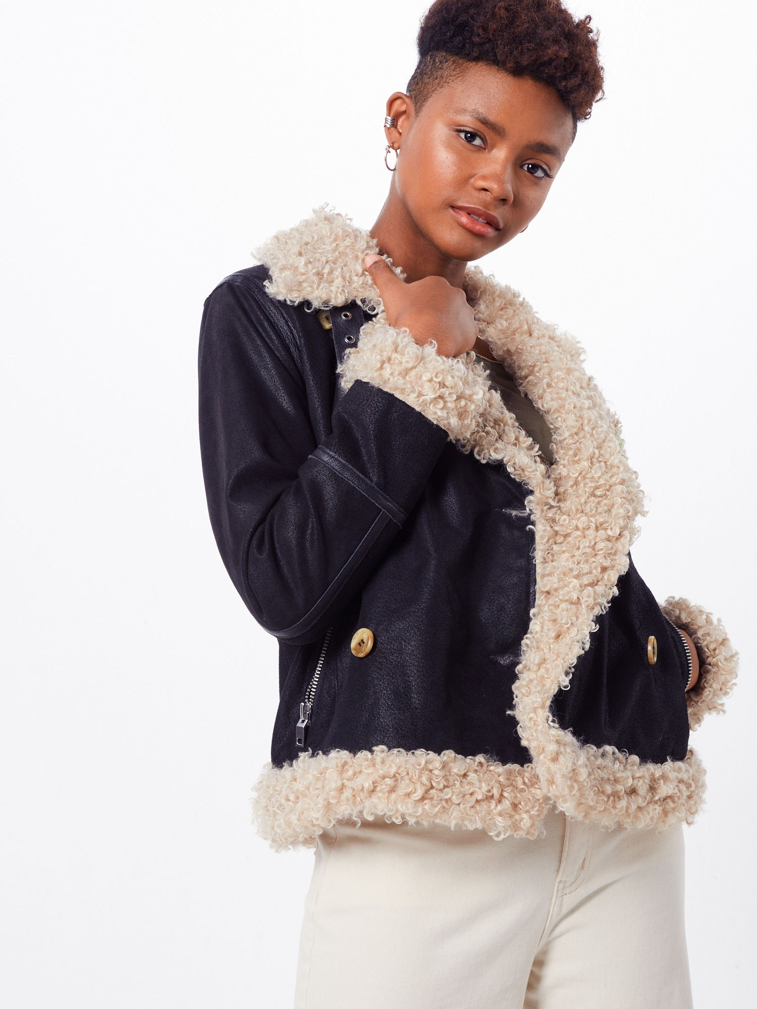 freaky nation - Jacke 'Curly Girlie'