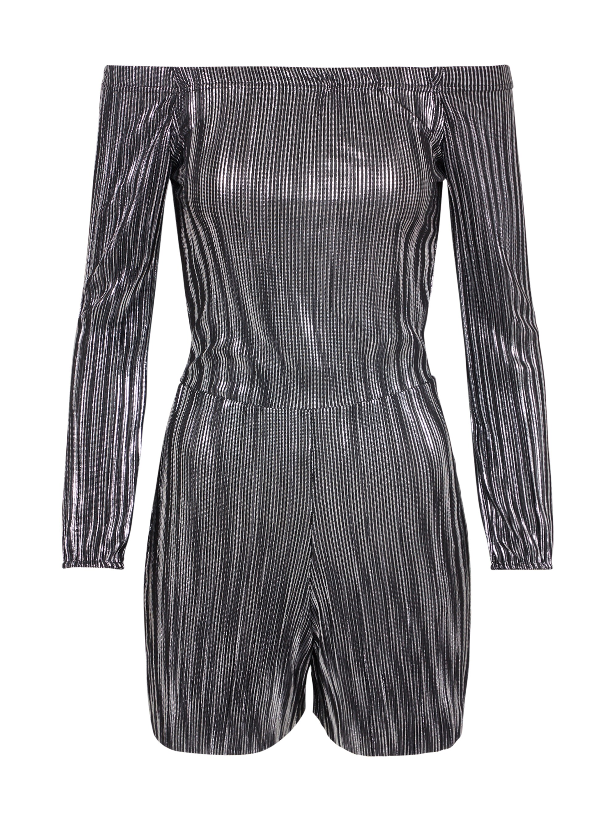 new look - Jumpsuit ´FOILED PLISSE BARDOT´