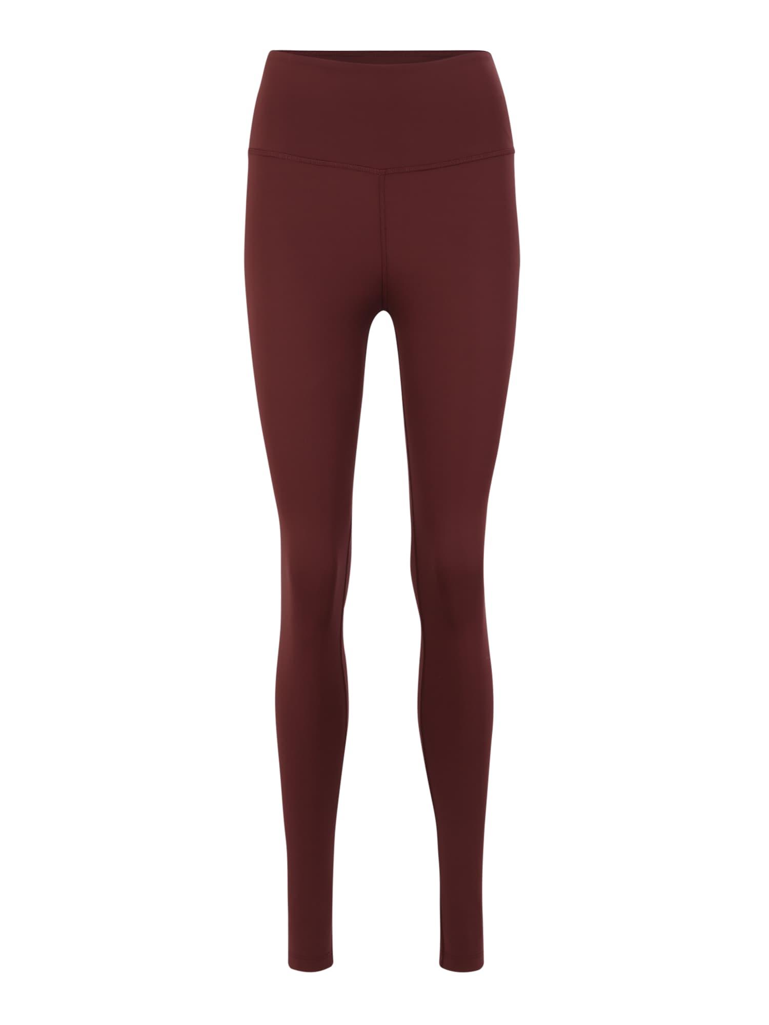 Sportovní kalhoty SHIFT MEDIUM burgundská červeň bílá ODLO