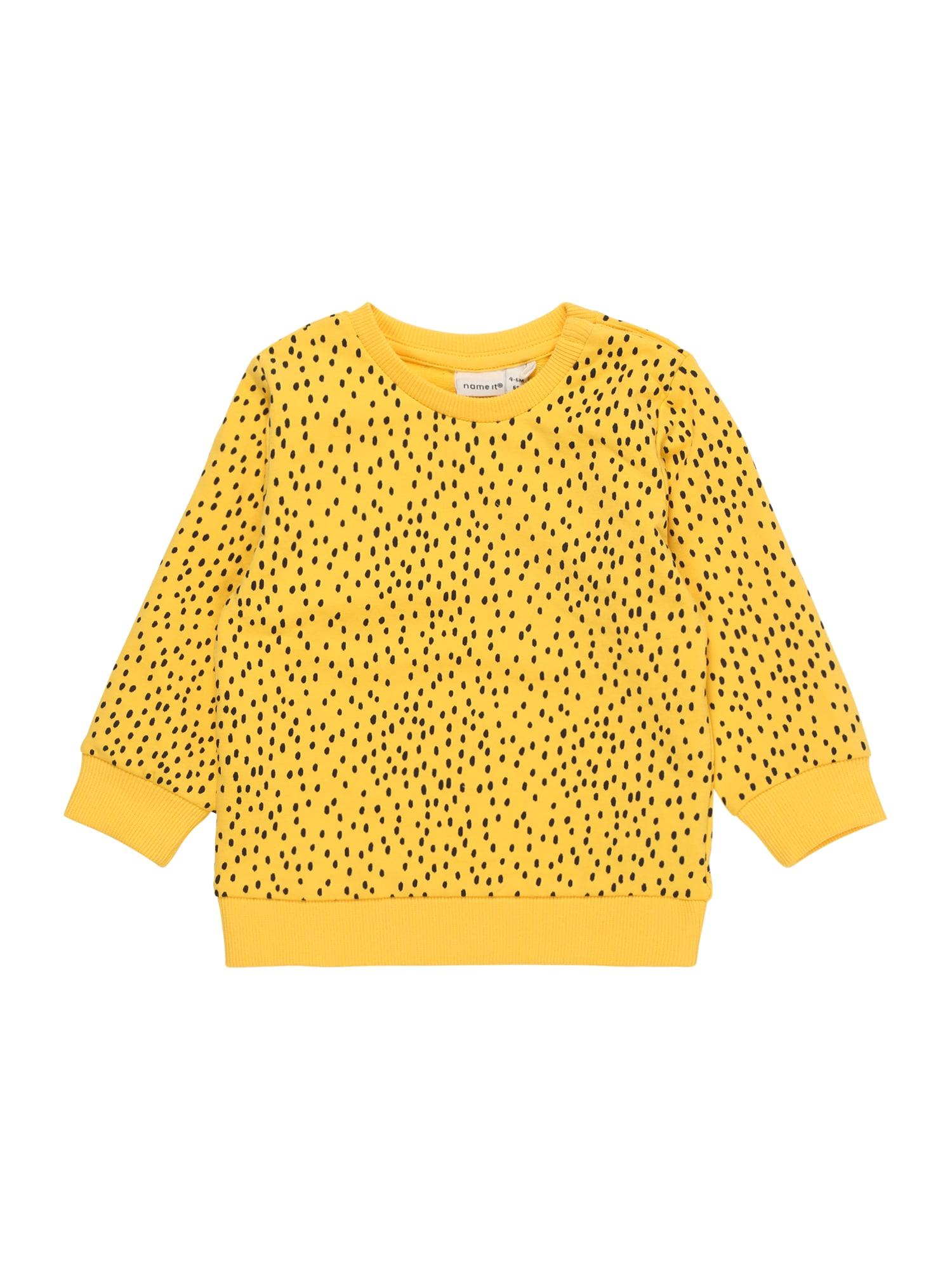 Pyžamo žlutá černá NAME IT