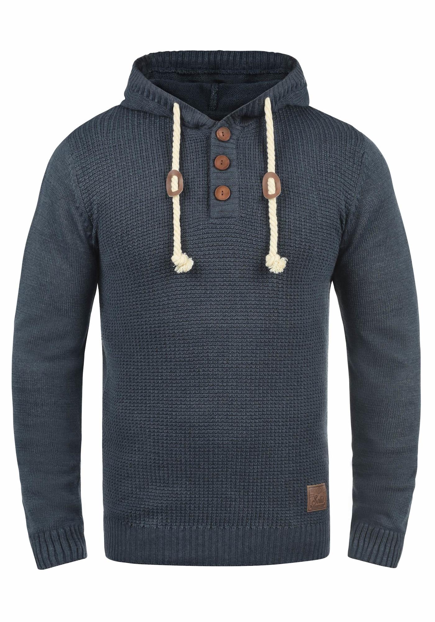 Kapuzenpullover 'Trace' | Bekleidung > Pullover > Kapuzenpullover | Blau | !solid