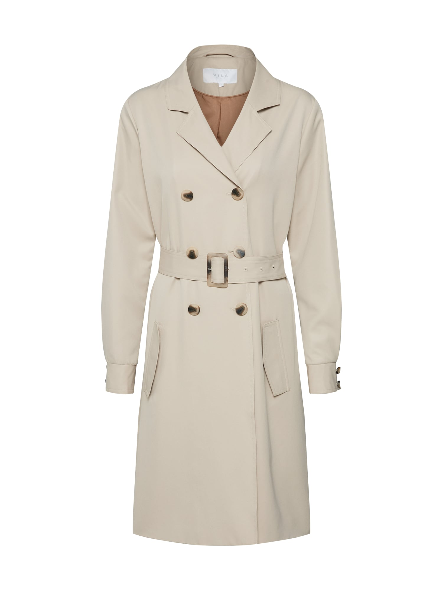 Přechodný kabát PARUS velbloudí VILA