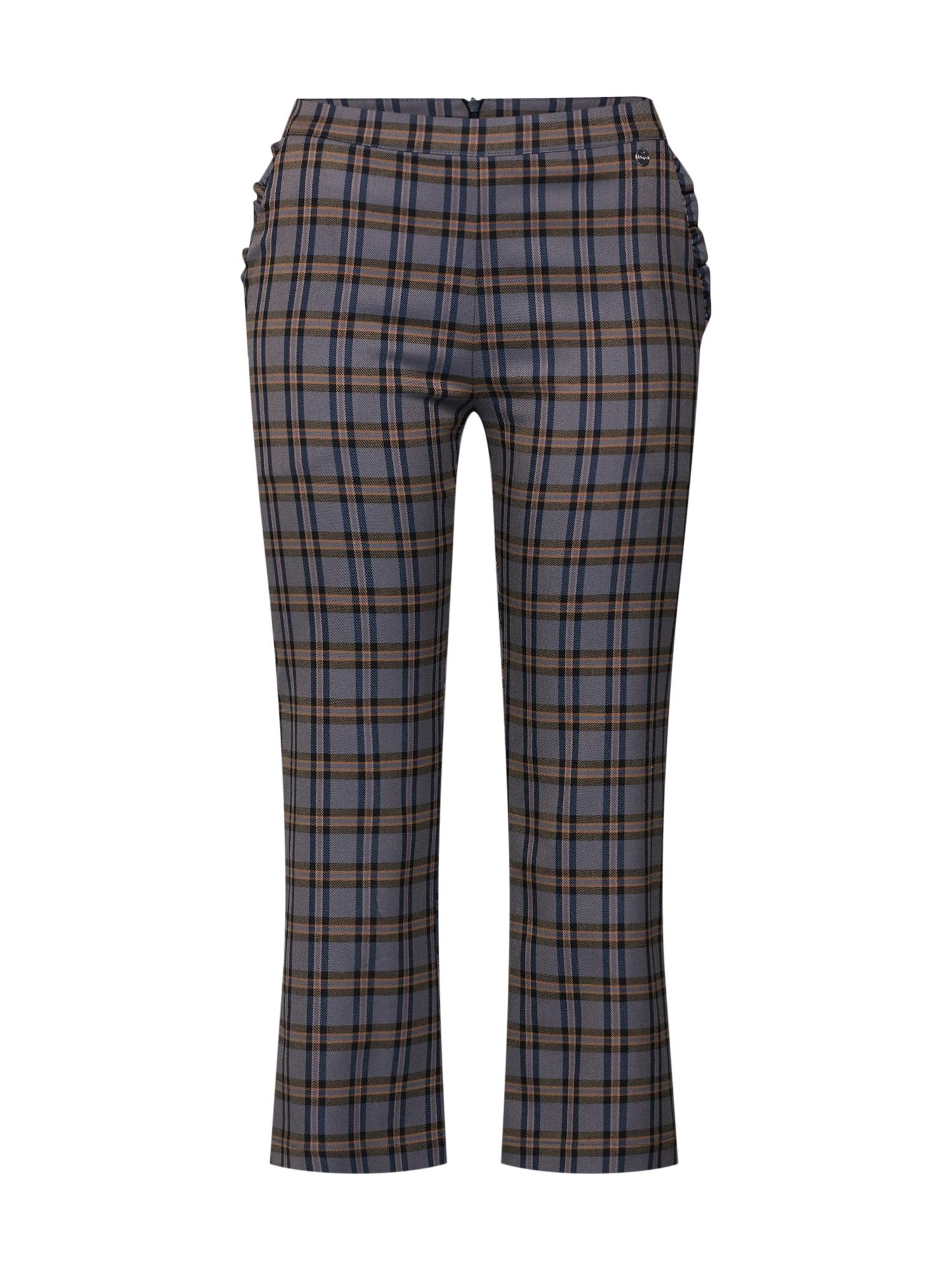 Kalhoty LG006020 tmavě šedá mix barev Liebesglück