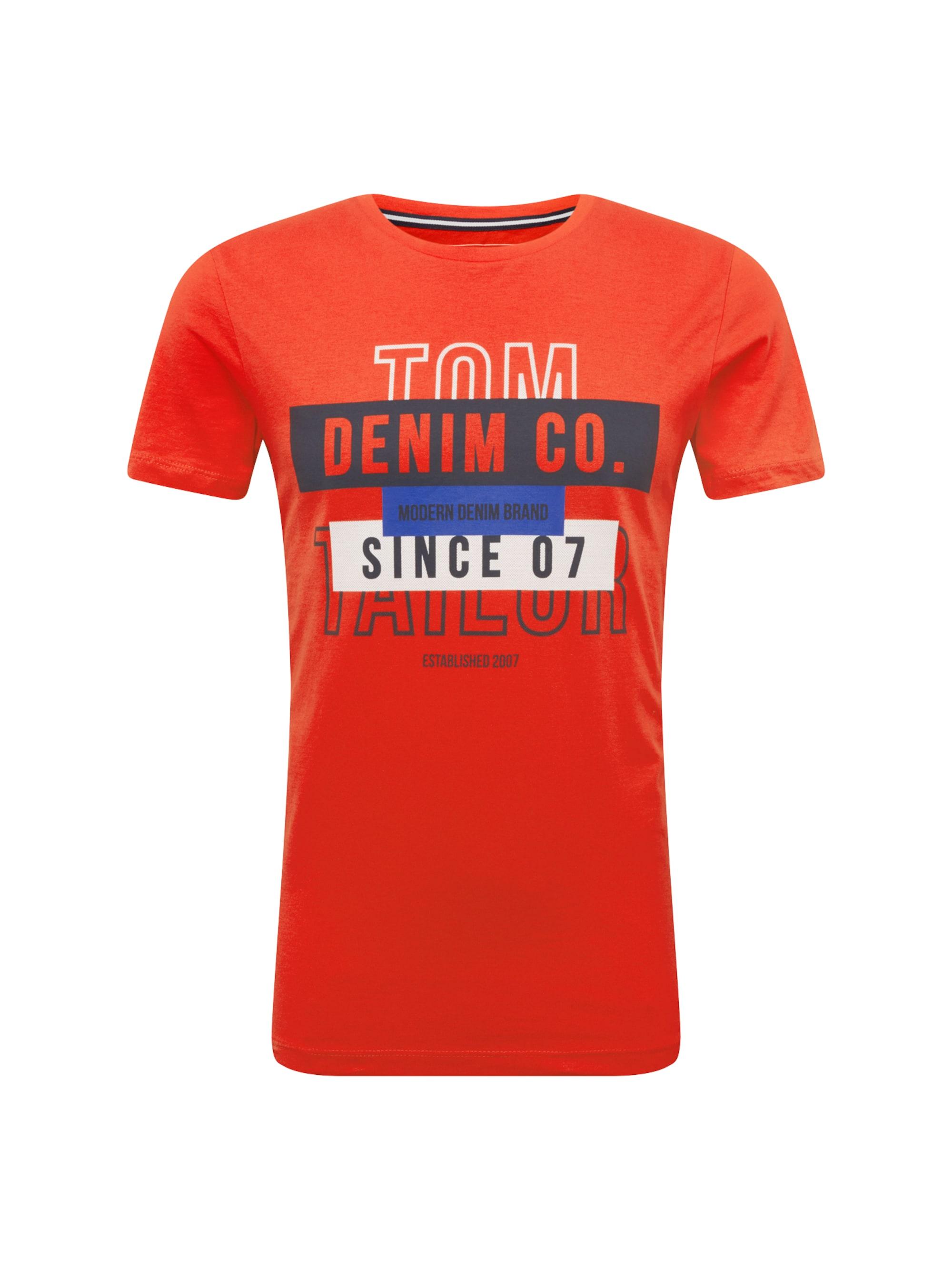 tom tailor denim - Shirt ´NOS T-shirt with print T-Shirt 1/2´