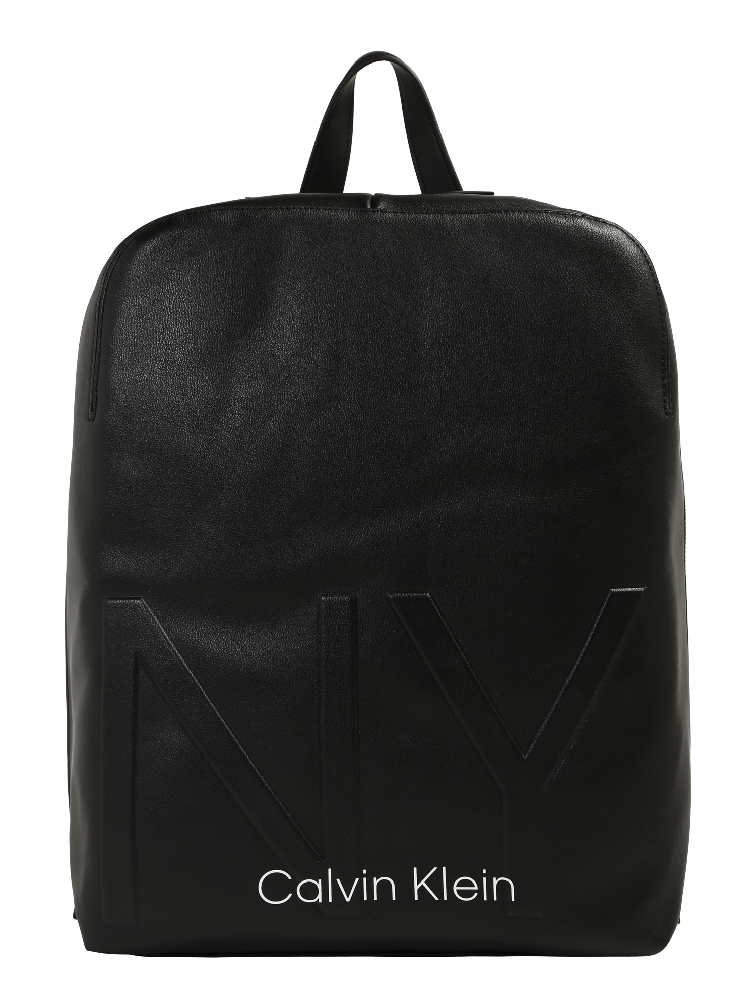 Calvin Klein Batoh 'NY SHAPED ROUND BACKPACK'  černá