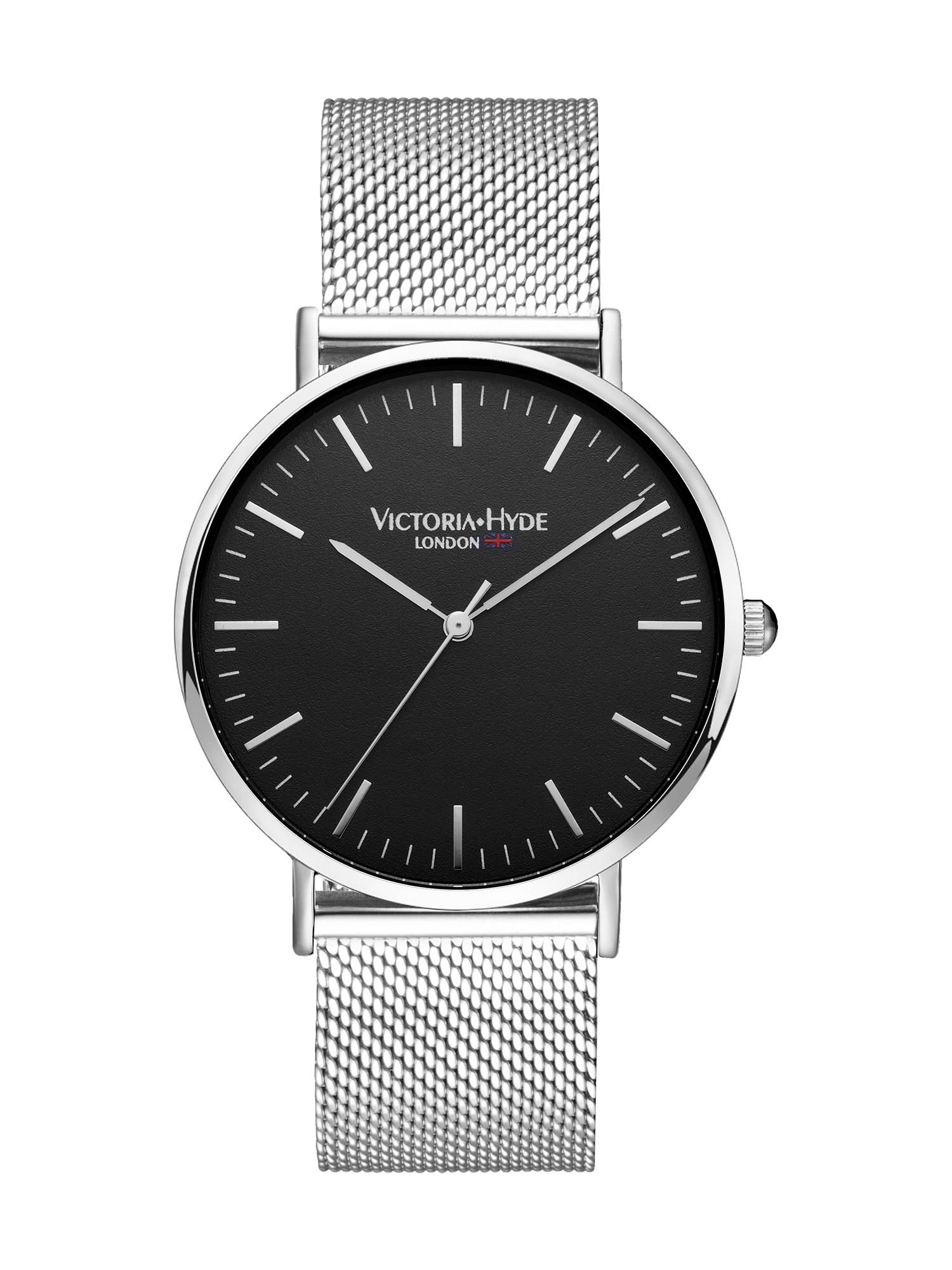 Armbanduhr   Uhren   Schwarz - Silber   Victoria Hyde