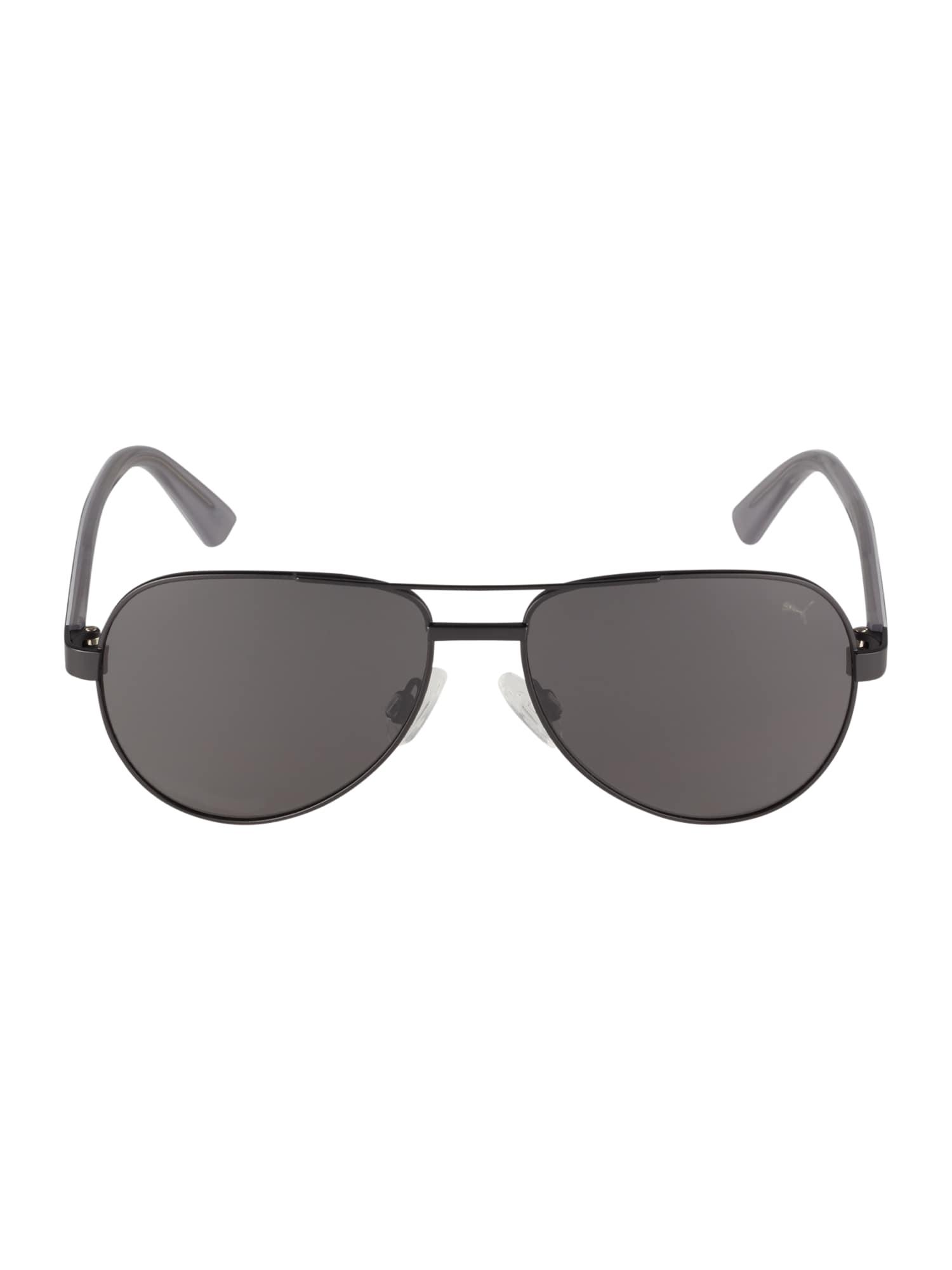 PUMA Slnečné okuliare 'PJ0027S '  sivá / čierna