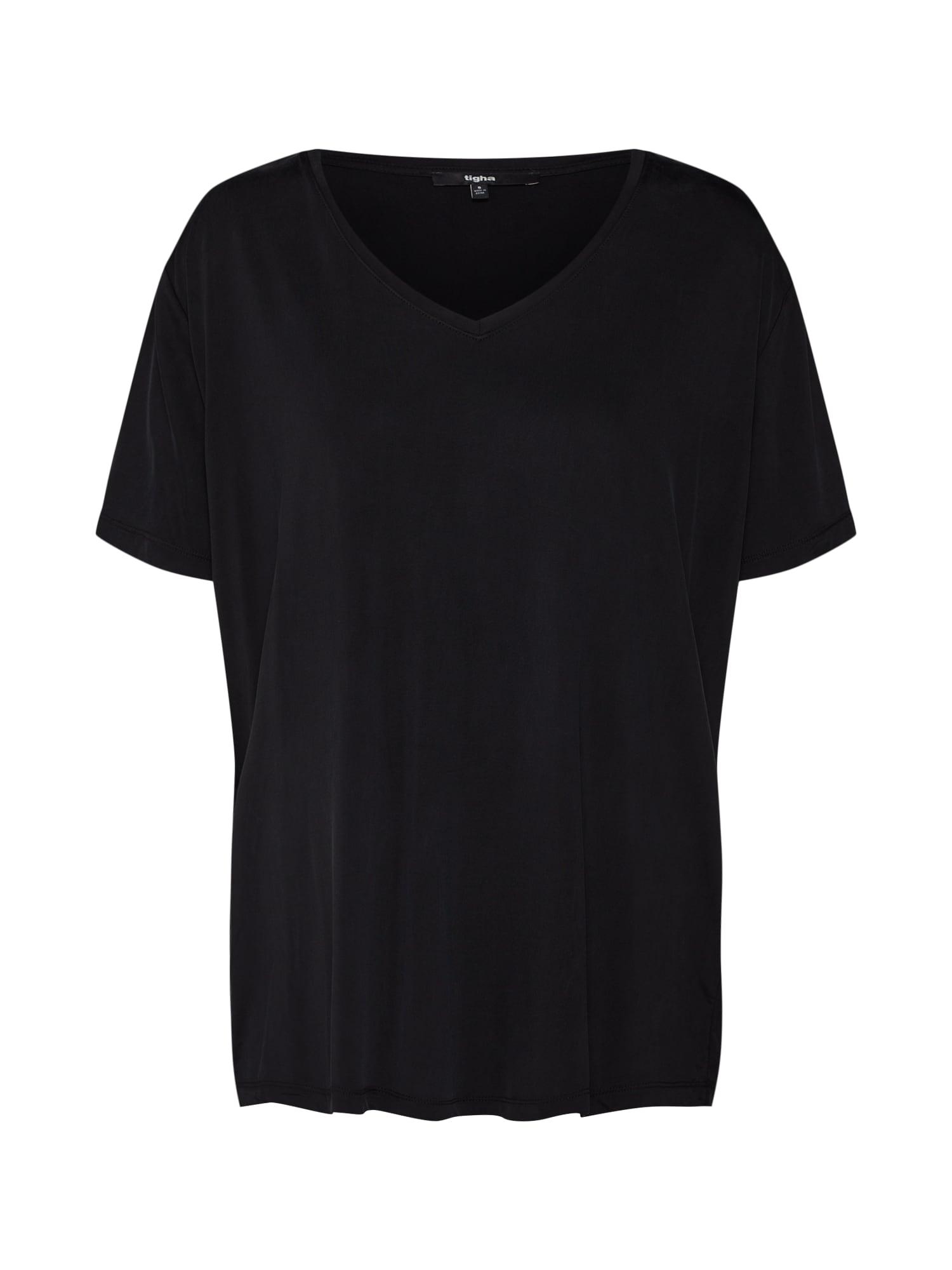 Oversized tričko Trisha černá Tigha