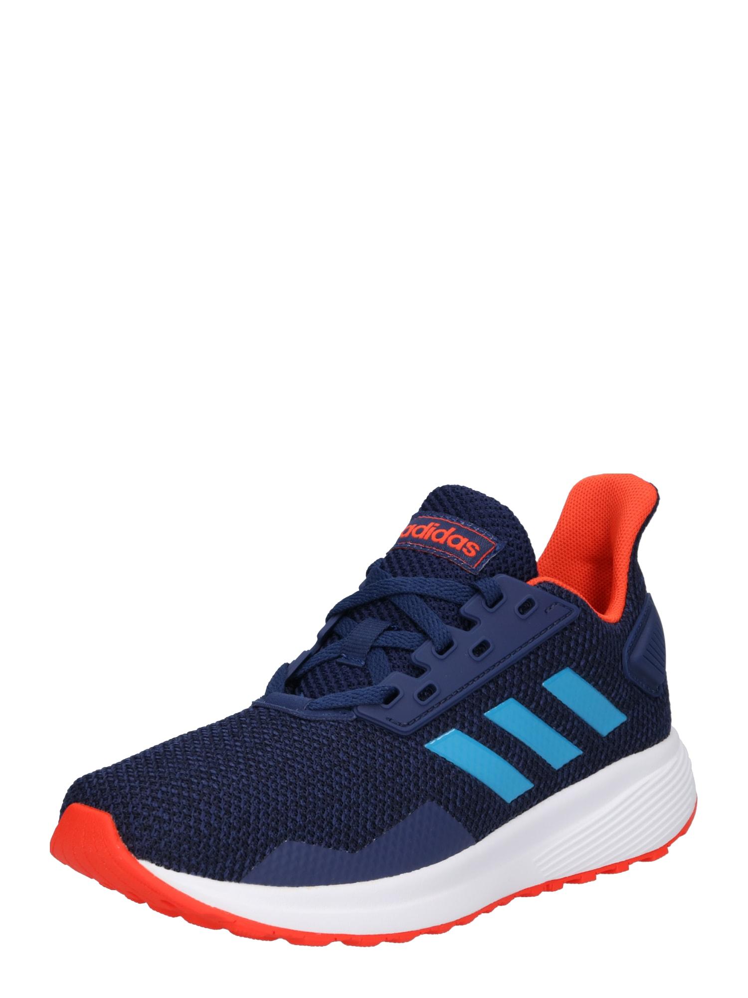 Sportovní boty DURAMO 9 K kouřově modrá noční modrá ADIDAS PERFORMANCE