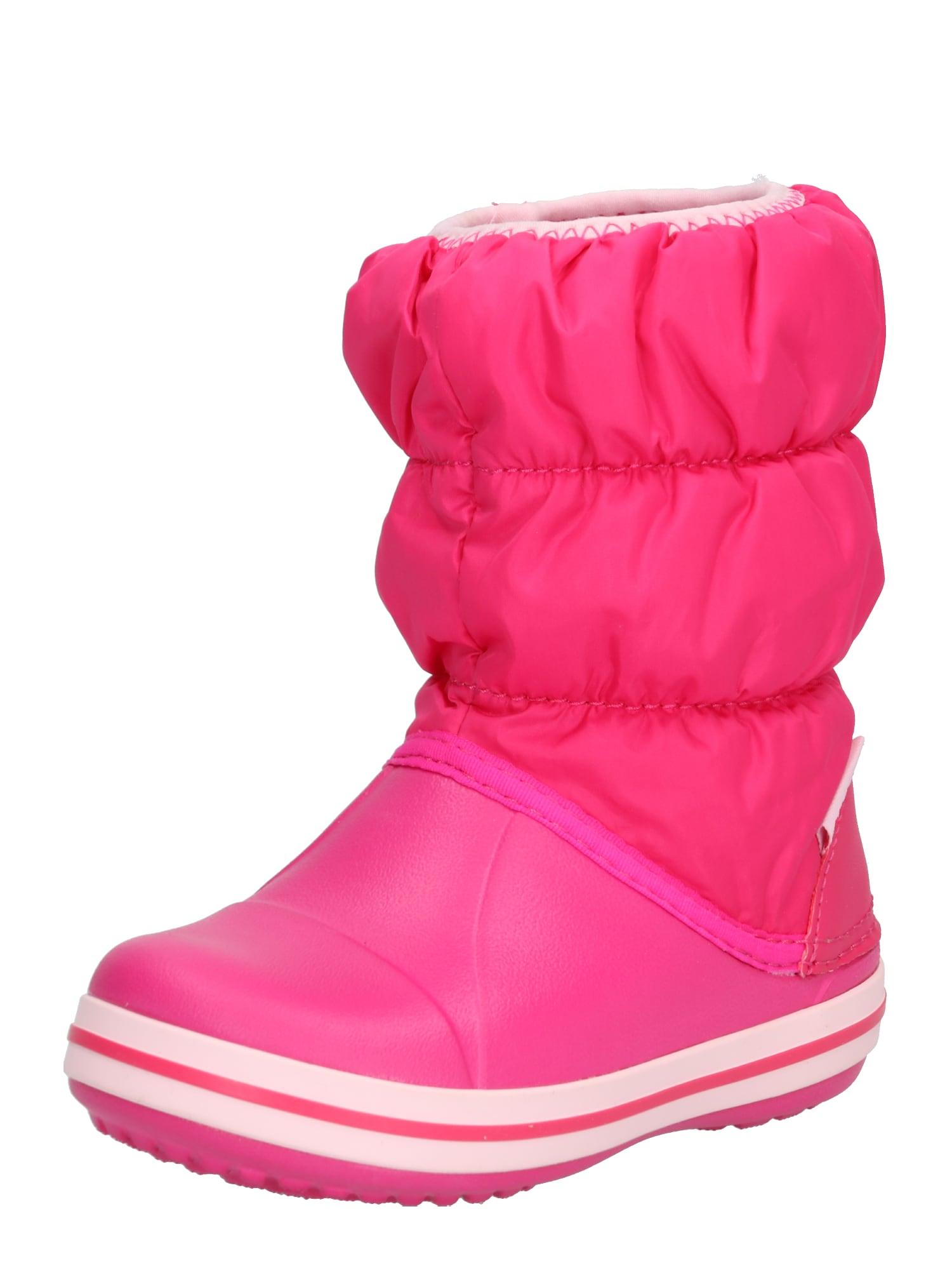 Sněhule Winter Puff Boot Kids pink Crocs