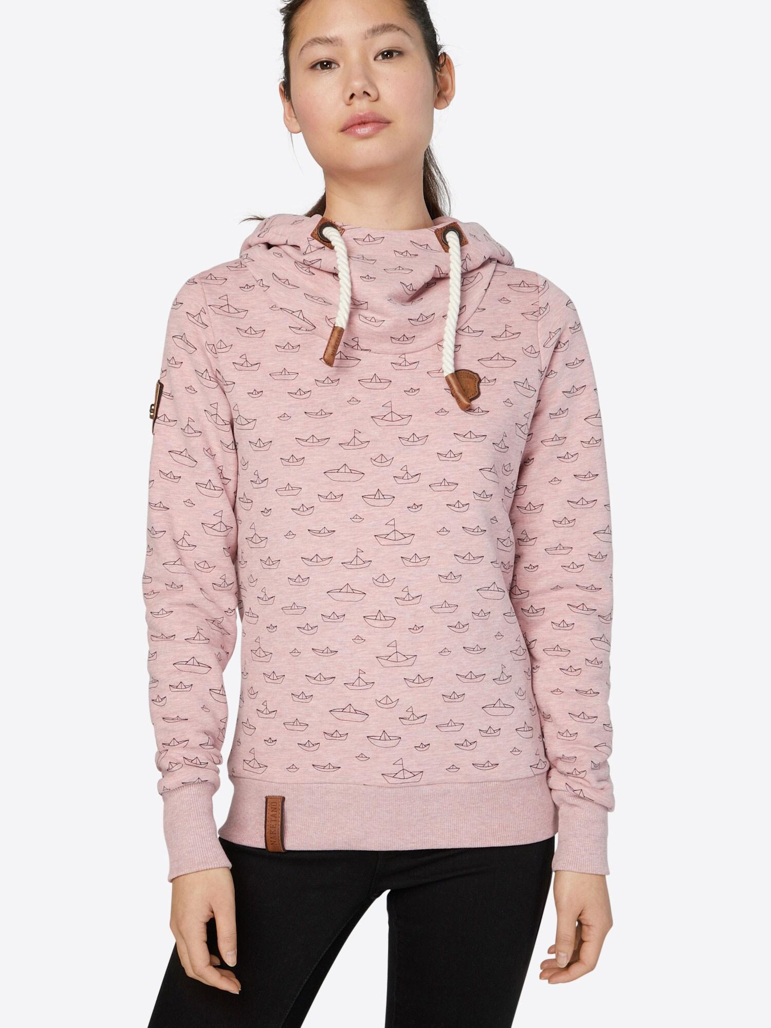 Sweatshirt 'Ich Denke Also Spinn Ich'