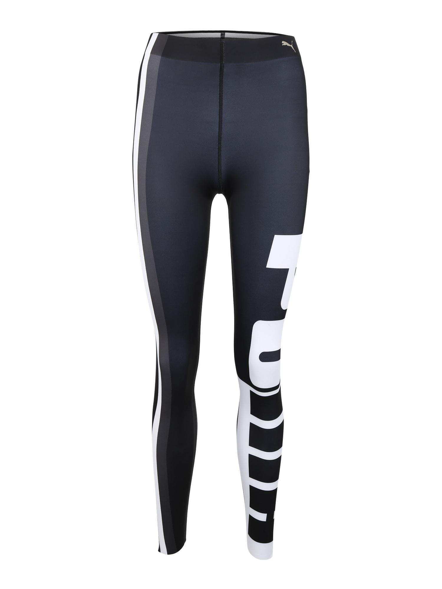 Sportovní kalhoty Varsity černá bílá PUMA