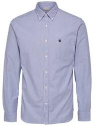 Oxford-Langarmhemd