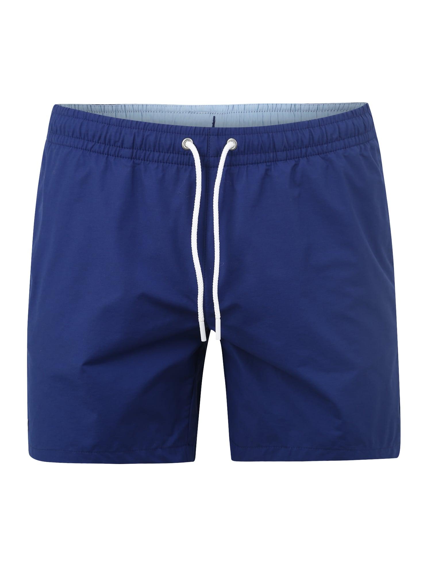 Plavecké šortky modrá LACOSTE