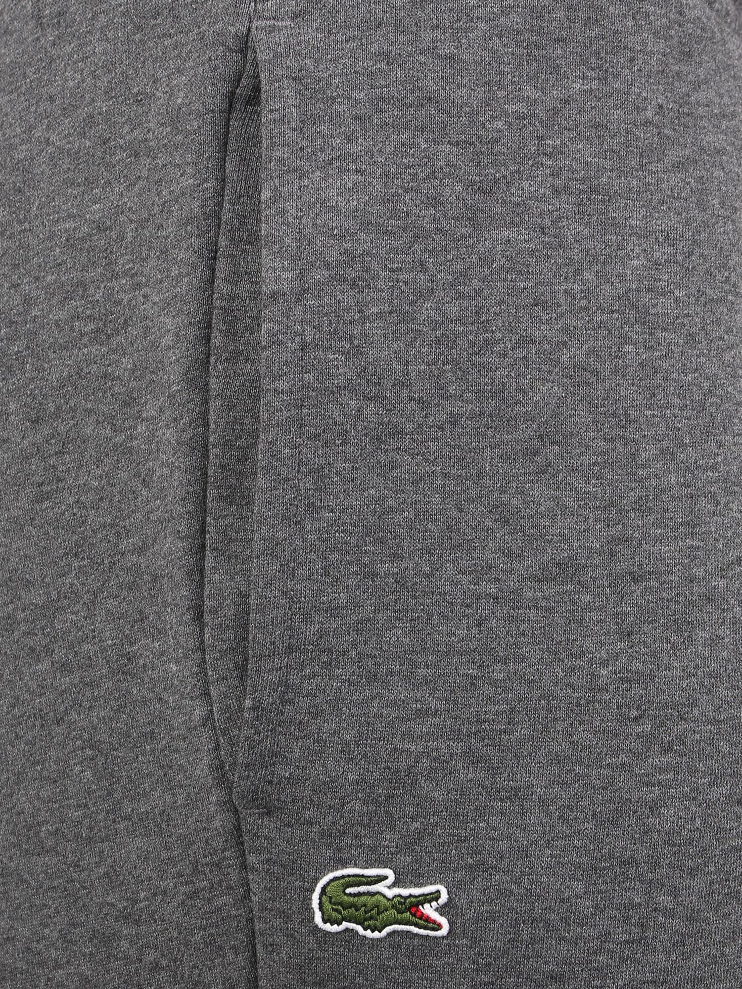 Lacoste Sport Športové nohavice  sivá melírovaná