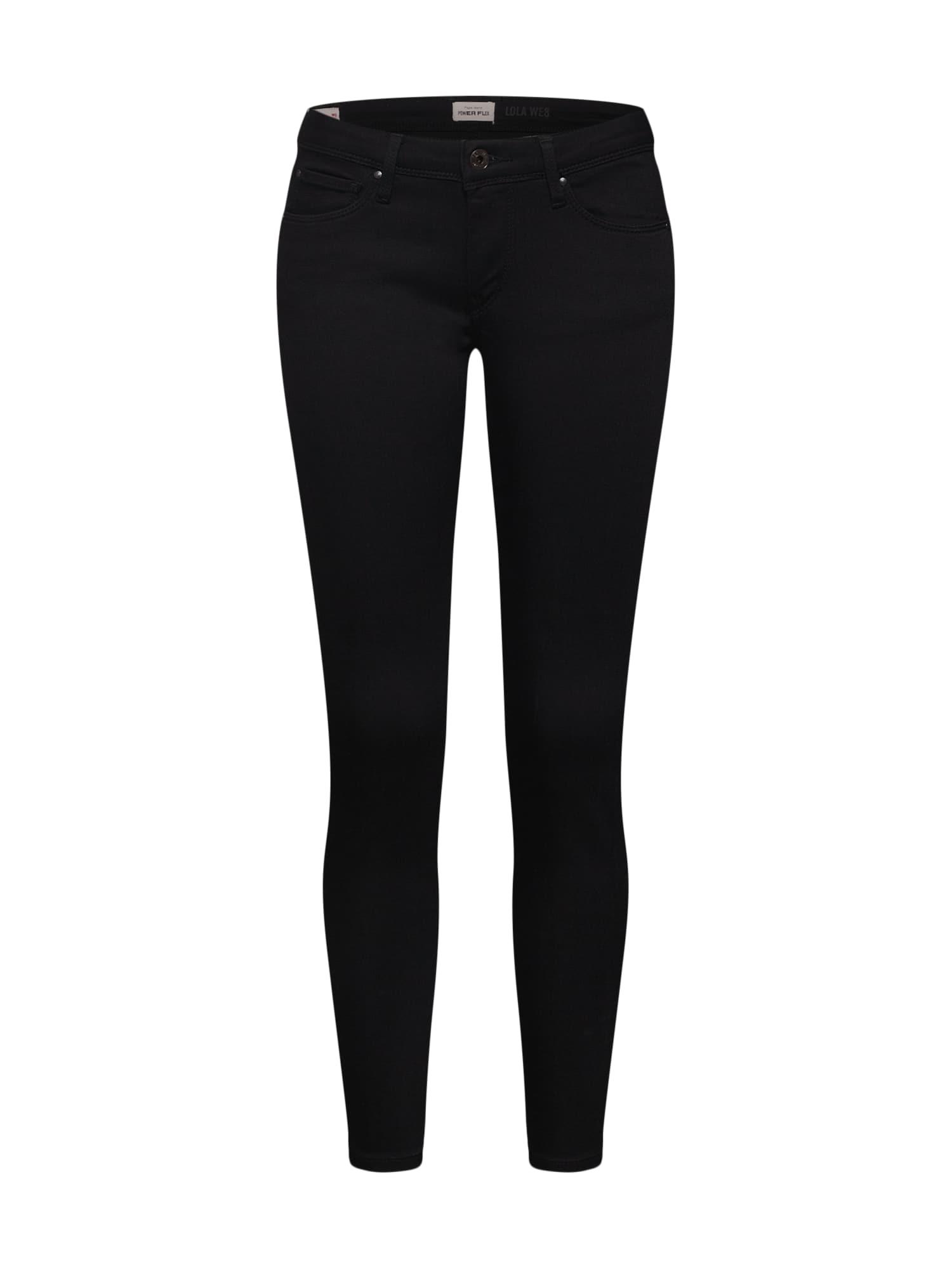 Džíny Lola černá džínovina Pepe Jeans