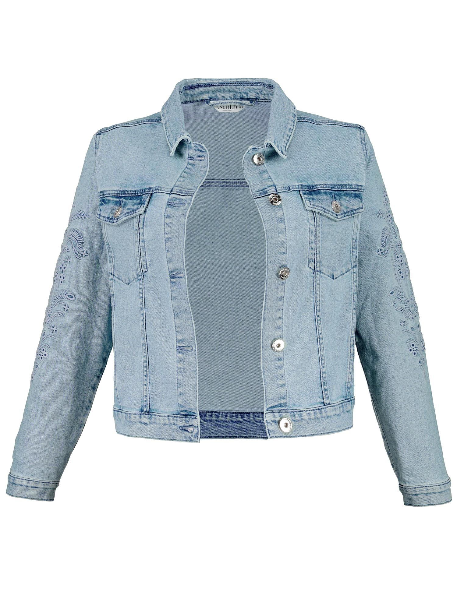 Přechodná bunda modrá džínovina Studio Untold
