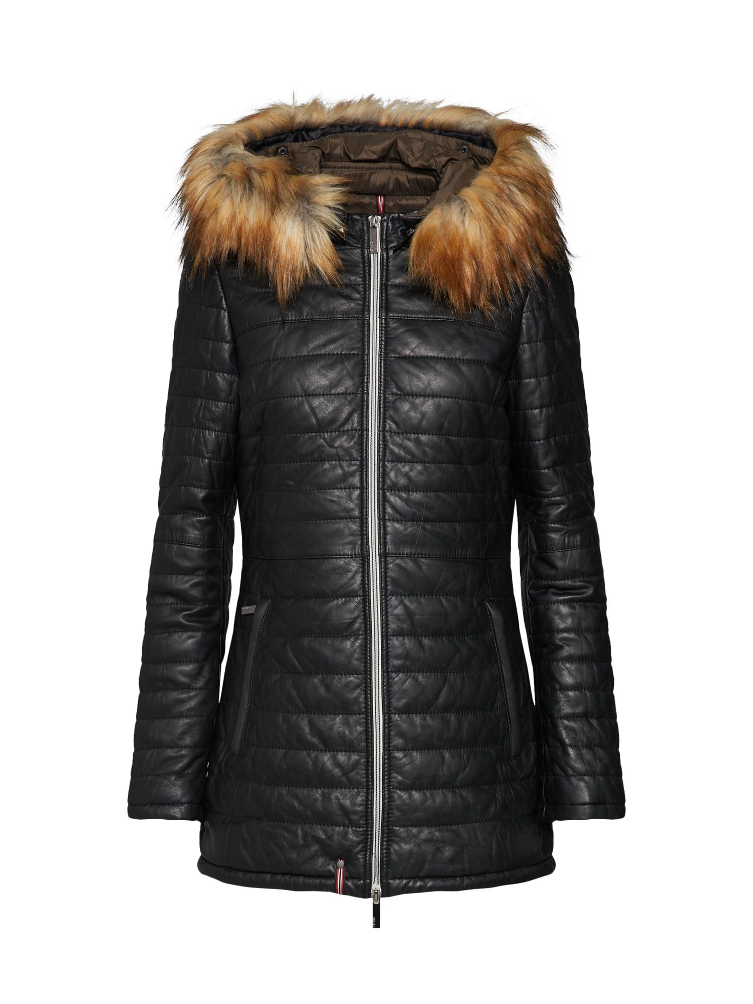 Zimní bunda Ping černá OAKWOOD