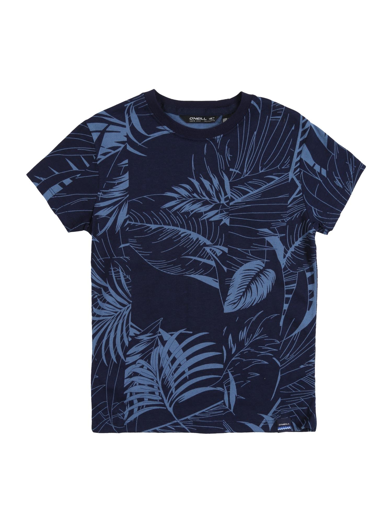 O'NEILL Tričko 'LB ISAAC'  modré