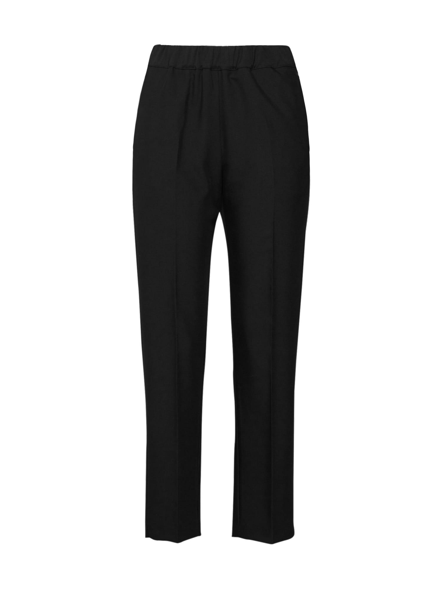 Kalhoty s puky Alvina černá EDITED