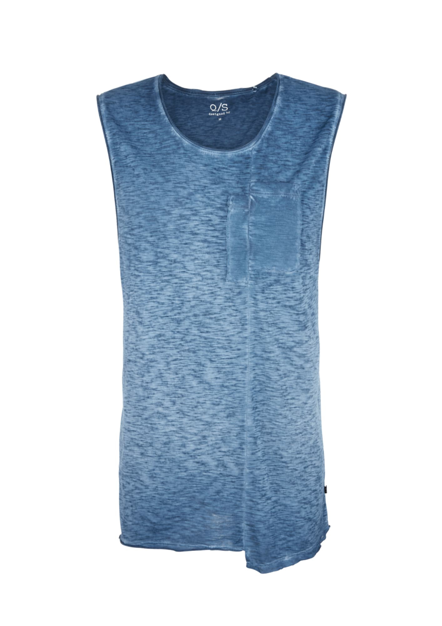 Tanktop mit Front Pocket | Bekleidung > Shirts > Tank Tops | Q/S Designed By