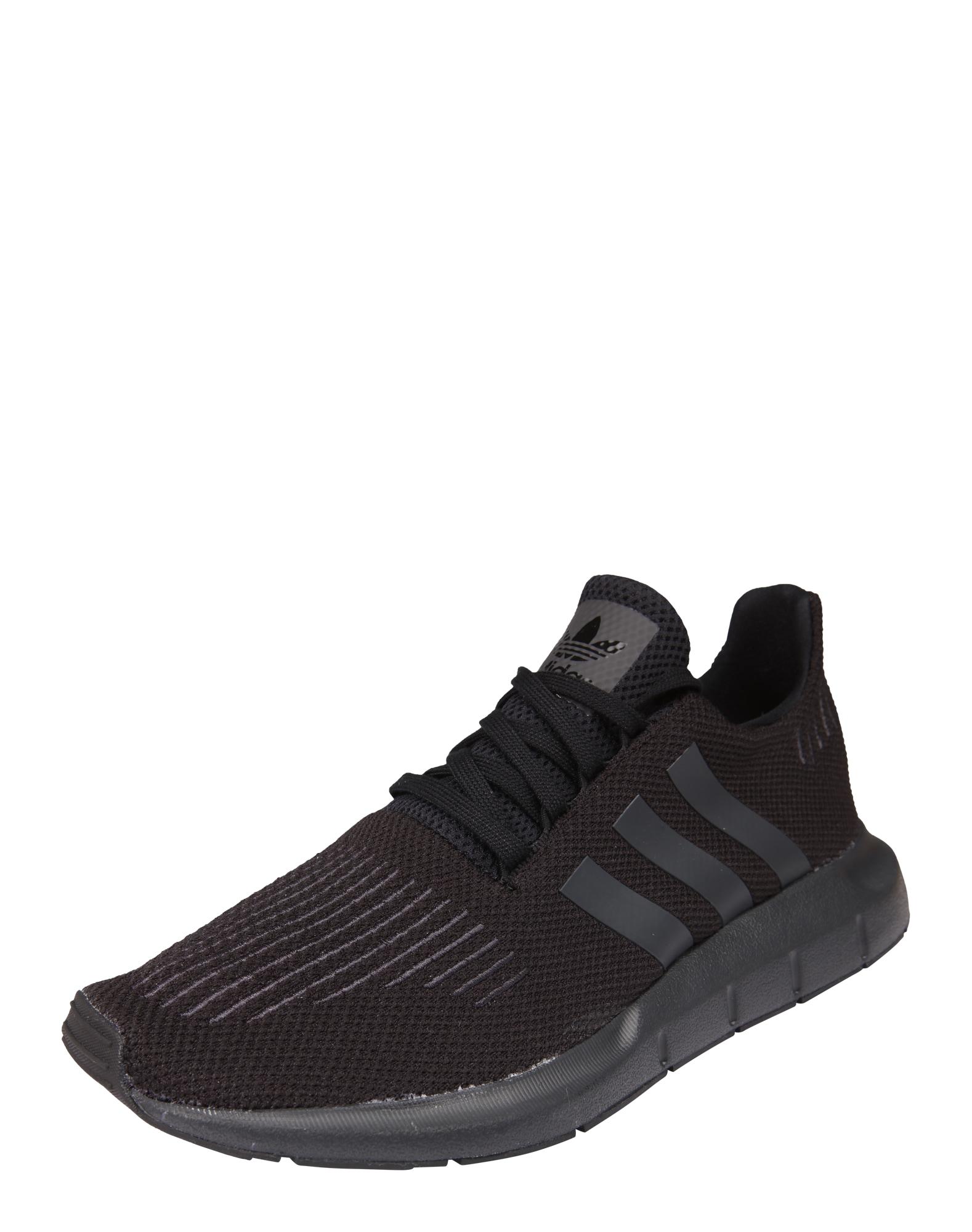 ADIDAS ORIGINALS, Heren Sneakers laag 'Swift Run', zwart