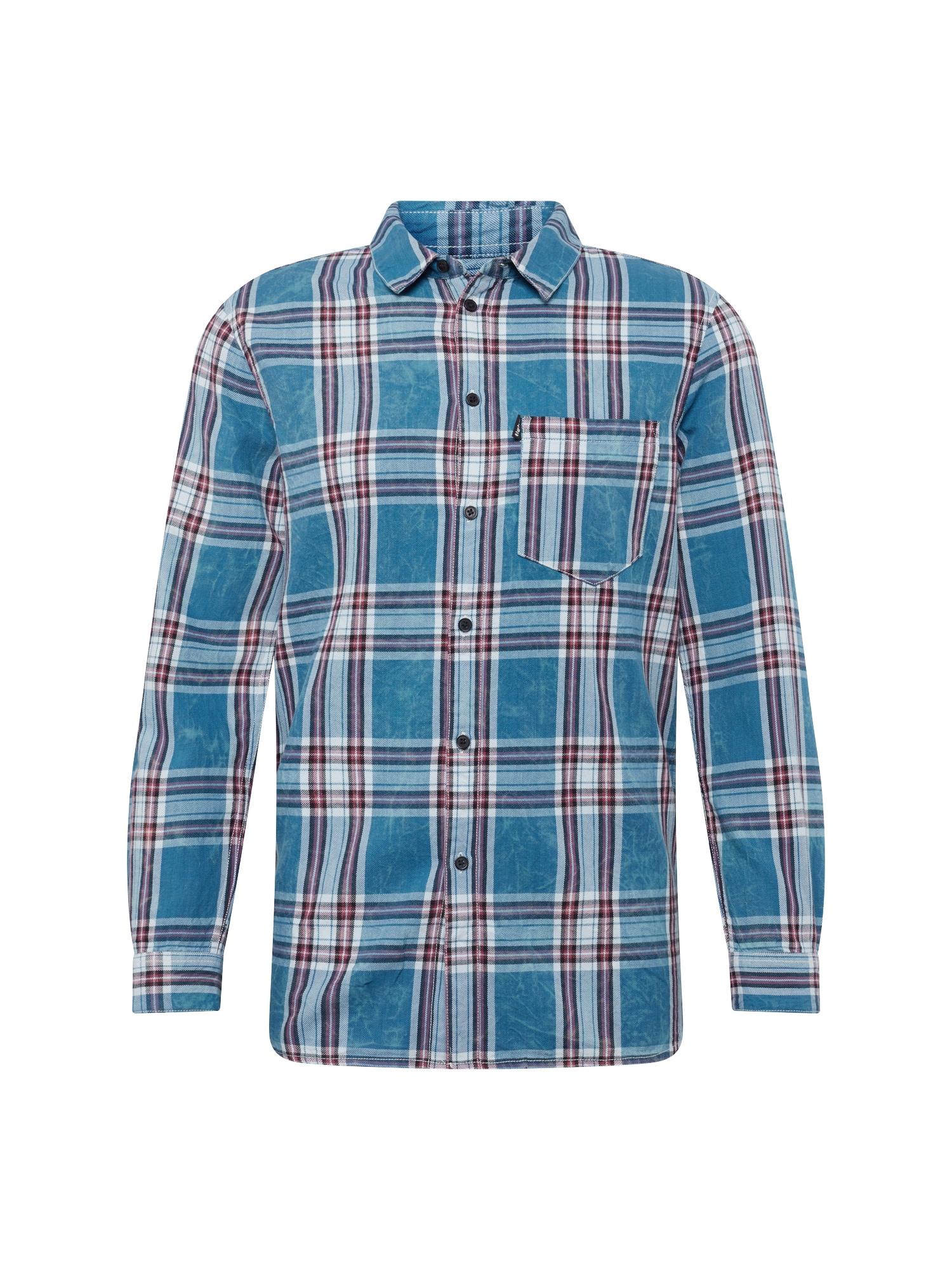 Košile Laurent modrá červená bílá Tigha