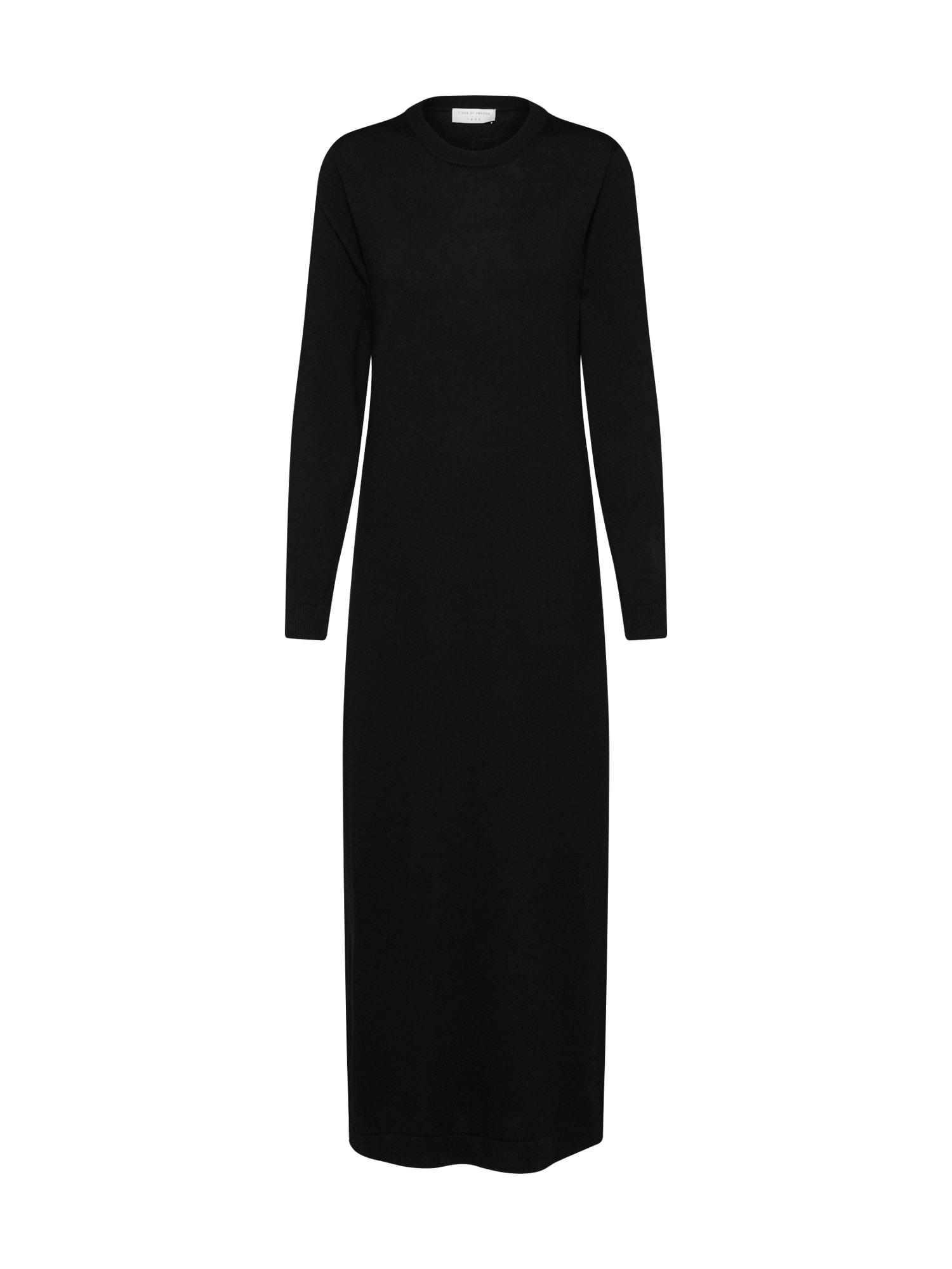 Úpletové šaty DIANELLA černá Tiger Of Sweden