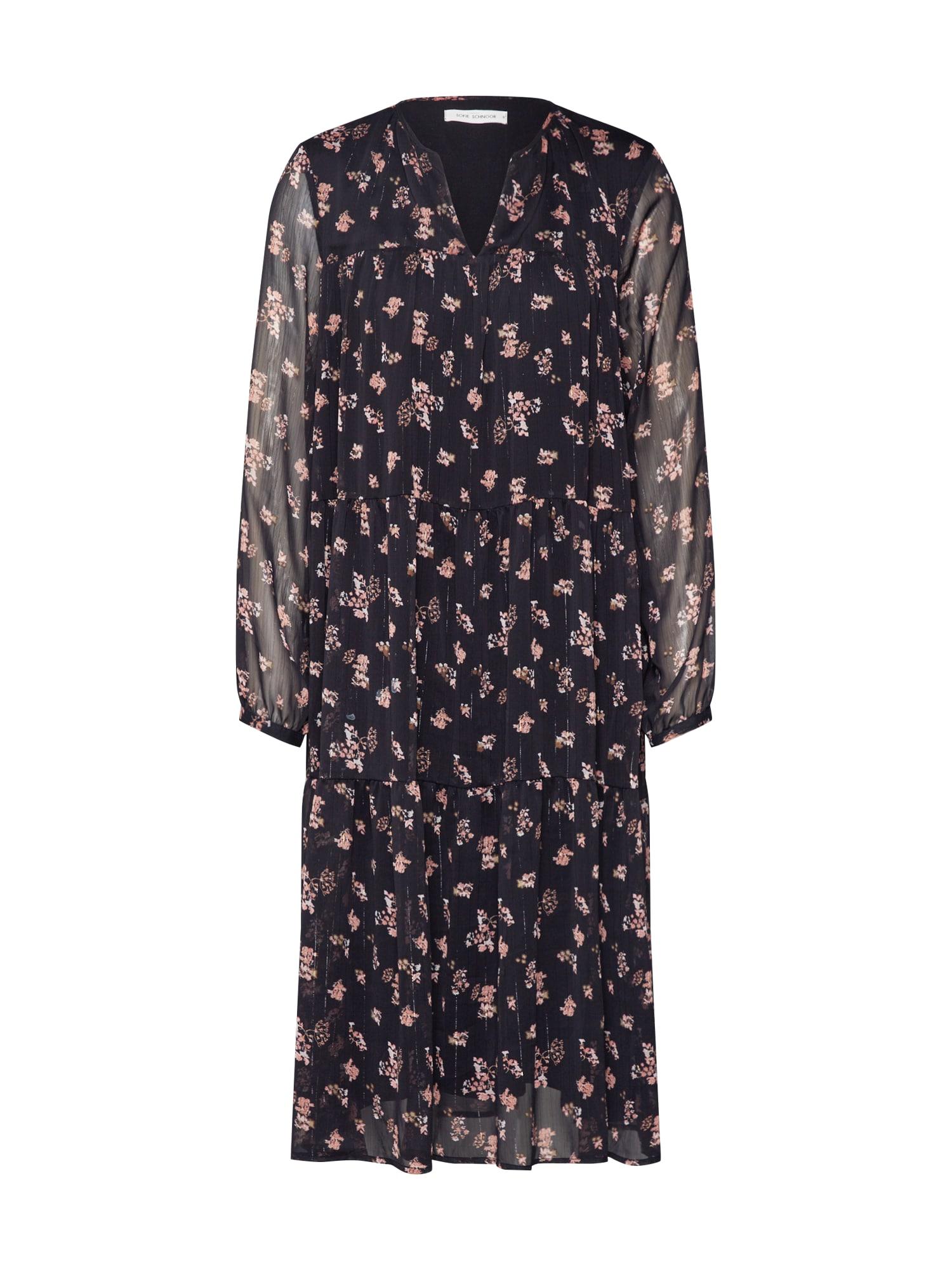 Sofie Schnoor Košeľové šaty 'S201210'  čierna