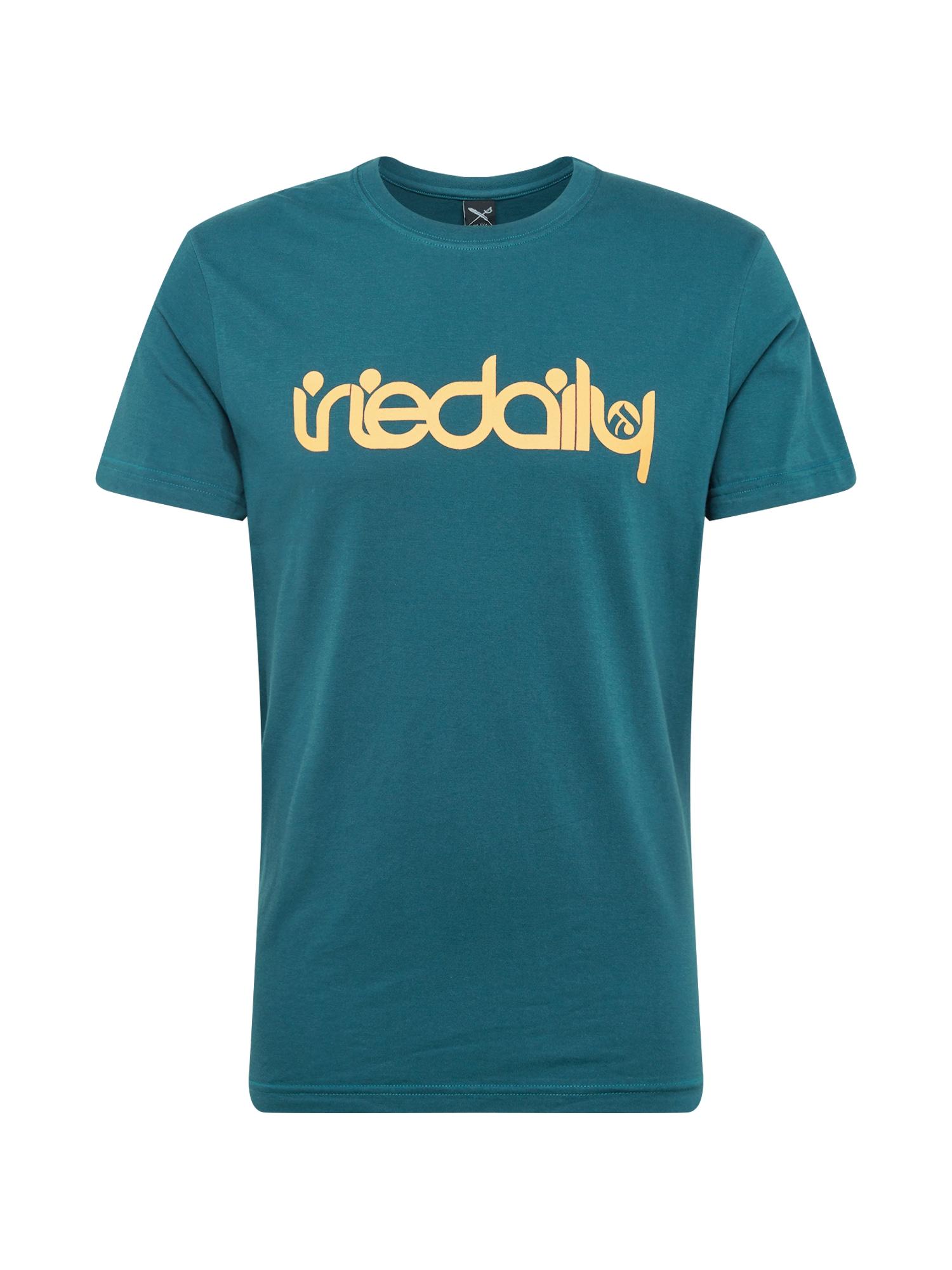 Tričko No Matter 4 aqua modrá Iriedaily