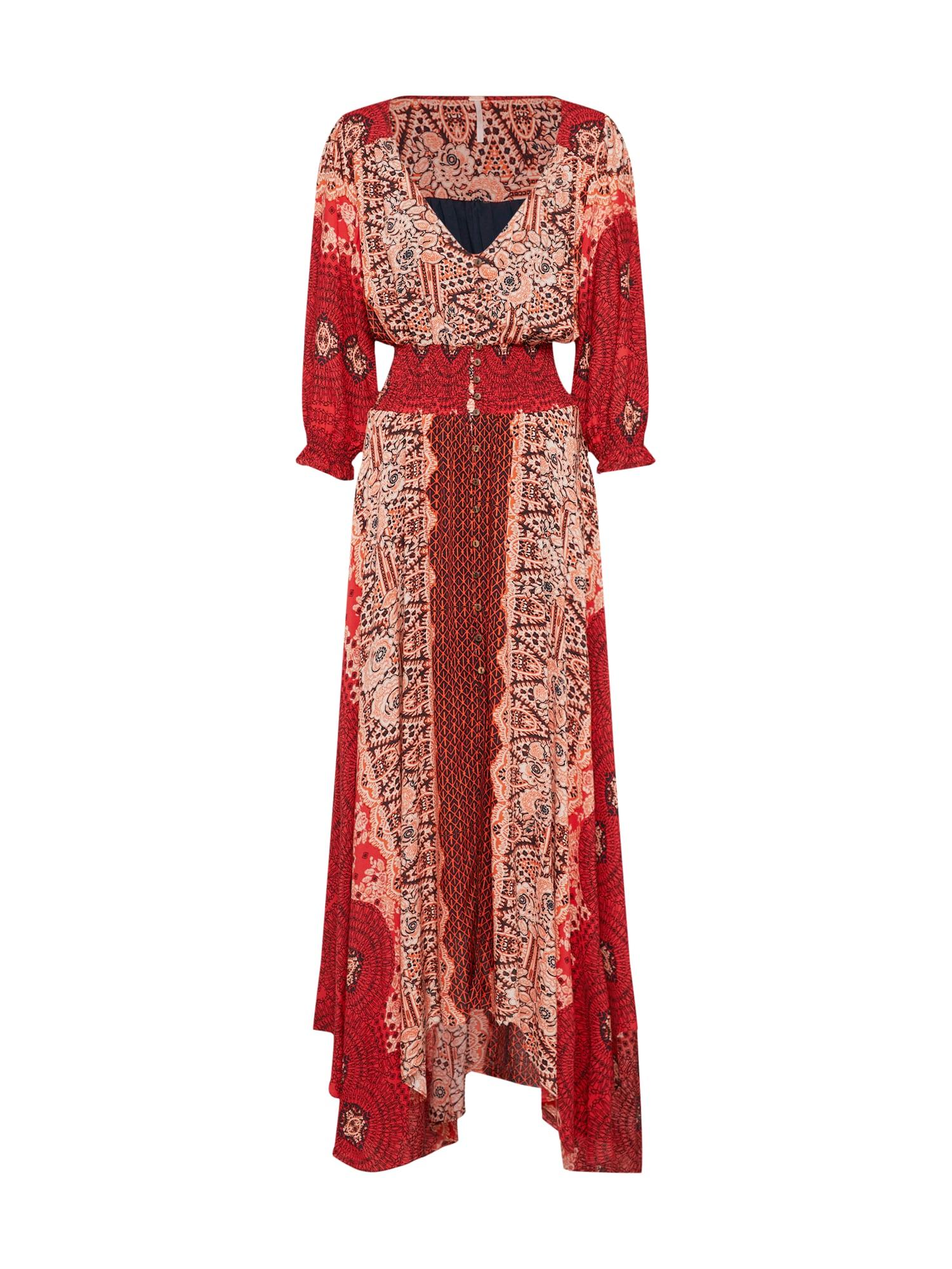 Letní šaty MEXICALI ROSE červená Free People