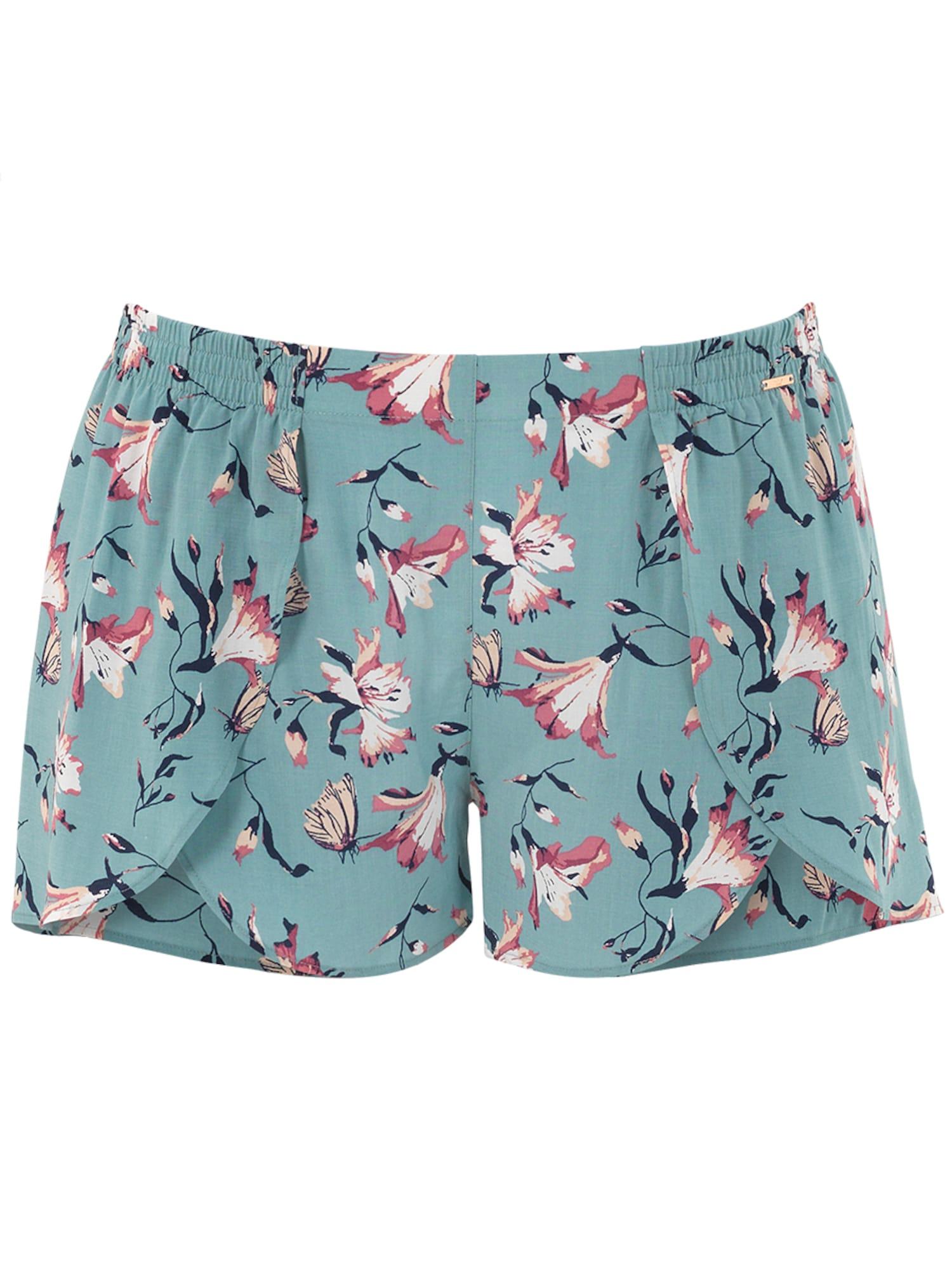 Pyžamové kalhoty Fancy Dreamer nefritová PALMERS