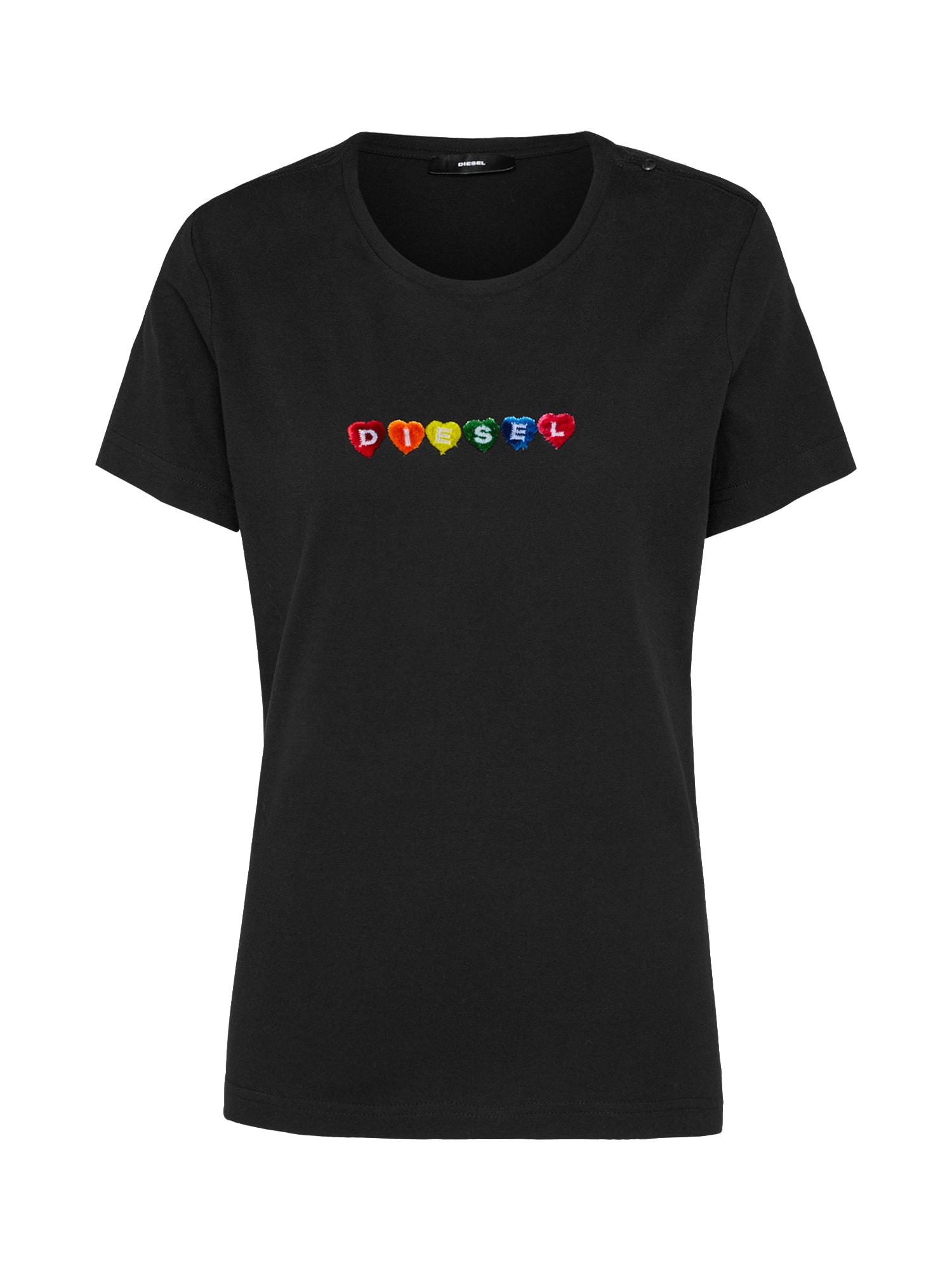 DIESEL Dames Shirt T-SILY-G zwart