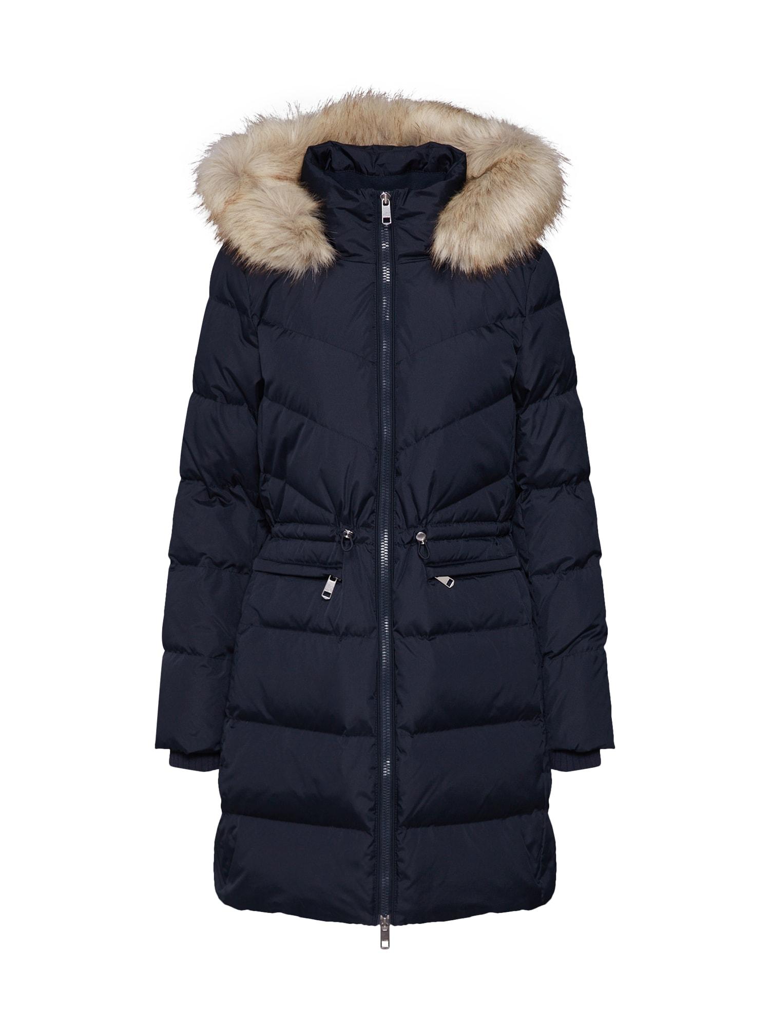 TOMMY HILFIGER Zimný kabát 'ALANA DOWN COAT'  tmavomodrá