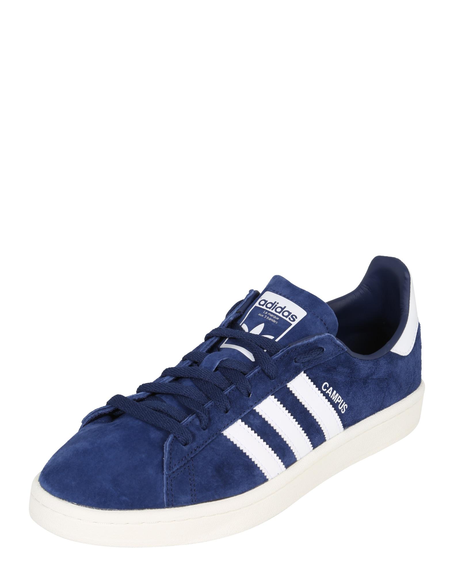 ADIDAS ORIGINALS, Heren Sneakers laag 'Campus', blauw / wit
