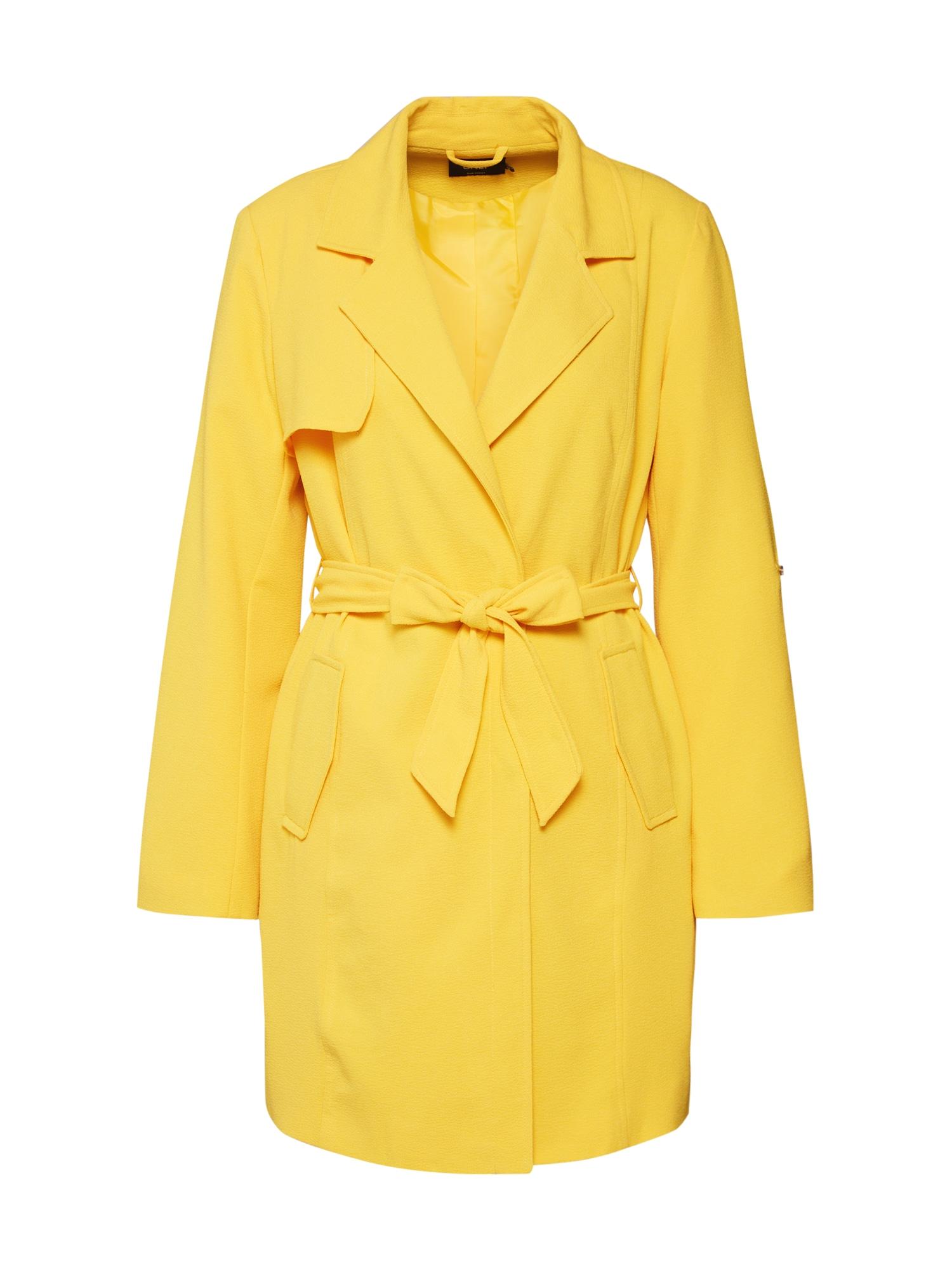 Přechodný kabát onlJANE žlutá ONLY