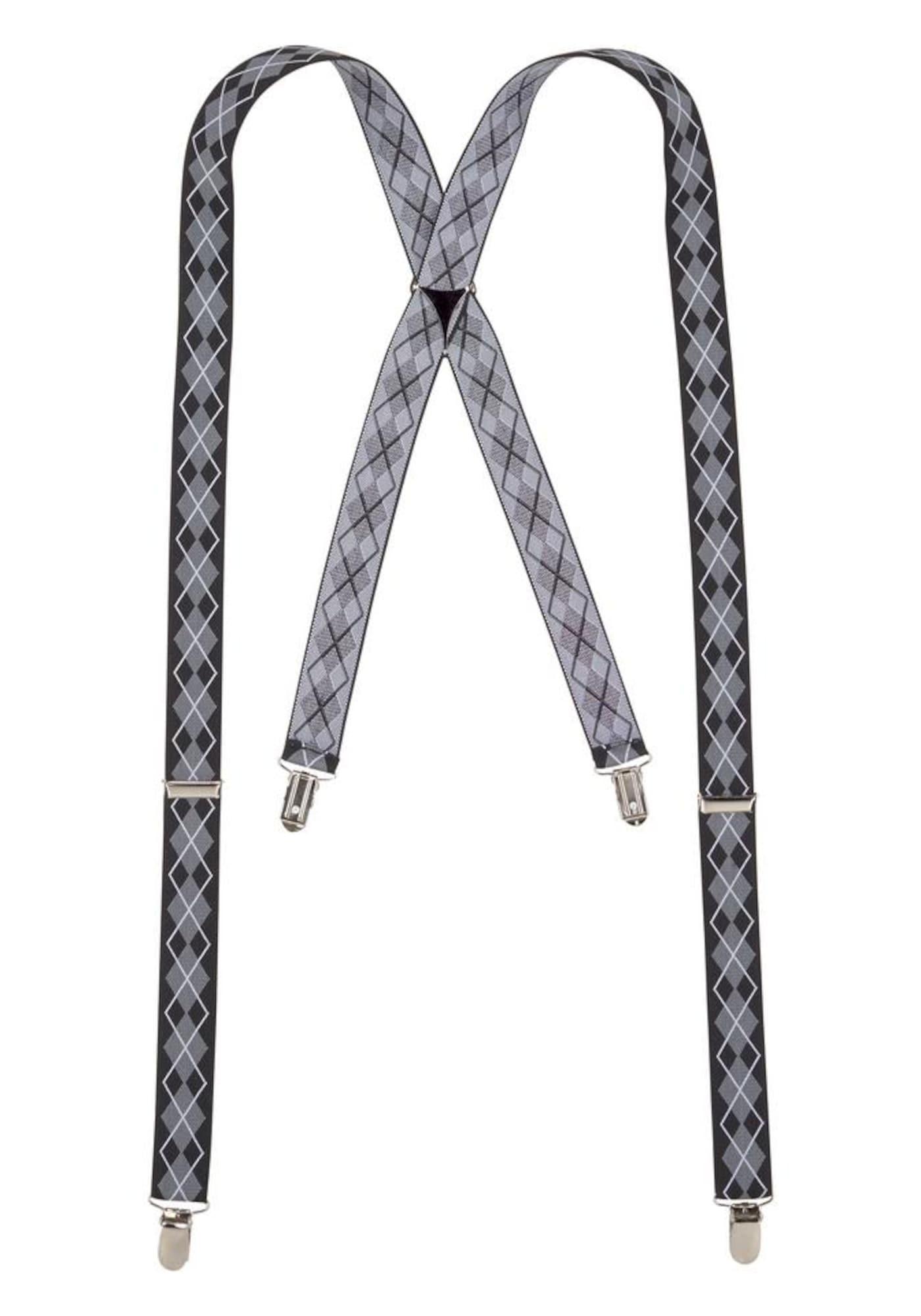 Hosenträger | Accessoires > Gürtel > Hosenträger | Grau - Schwarz - Weiß | J. Jayz