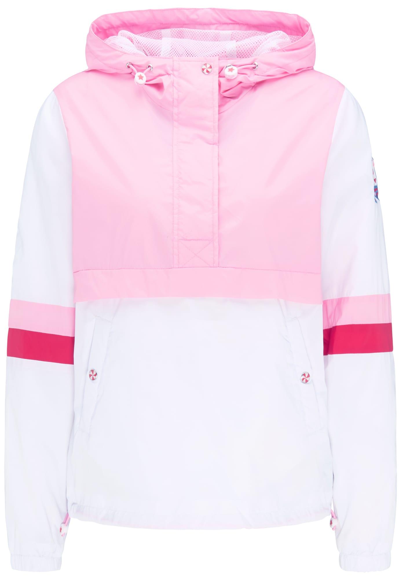 Windbreaker | Sportbekleidung > Sportjacken > Windbreaker | Pink - Rosa - Weiß | MYMO