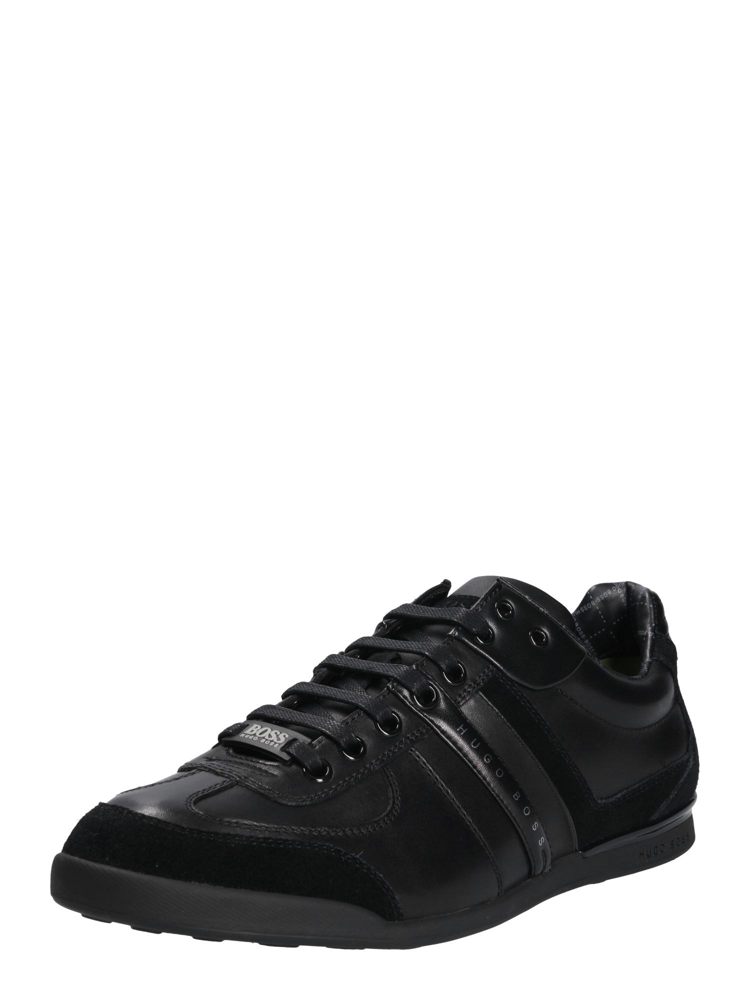 Sportovní šněrovací boty Aki černá BOSS