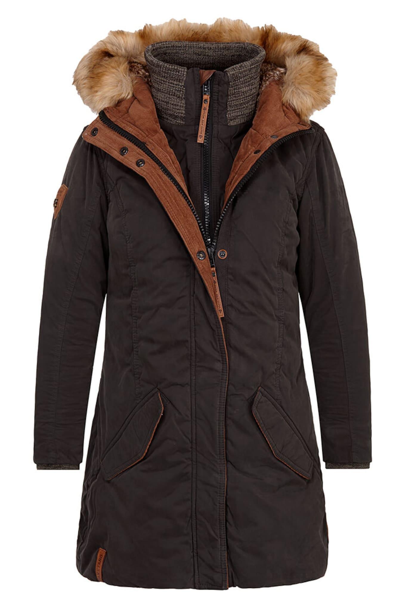 Zimní bunda antracitová Naketano