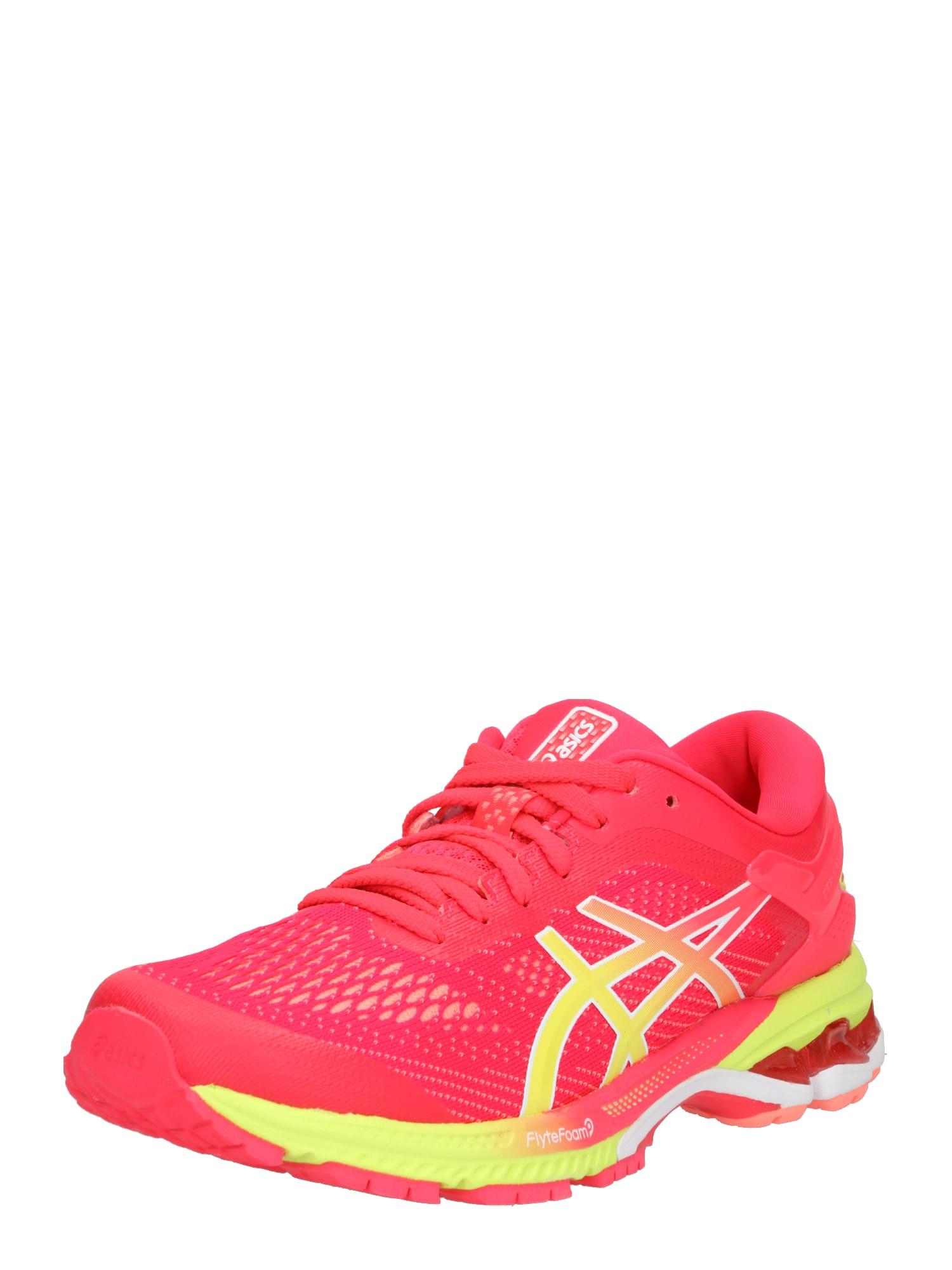 Běžecká obuv GEL-KAYANO 26 žlutá pink ASICS