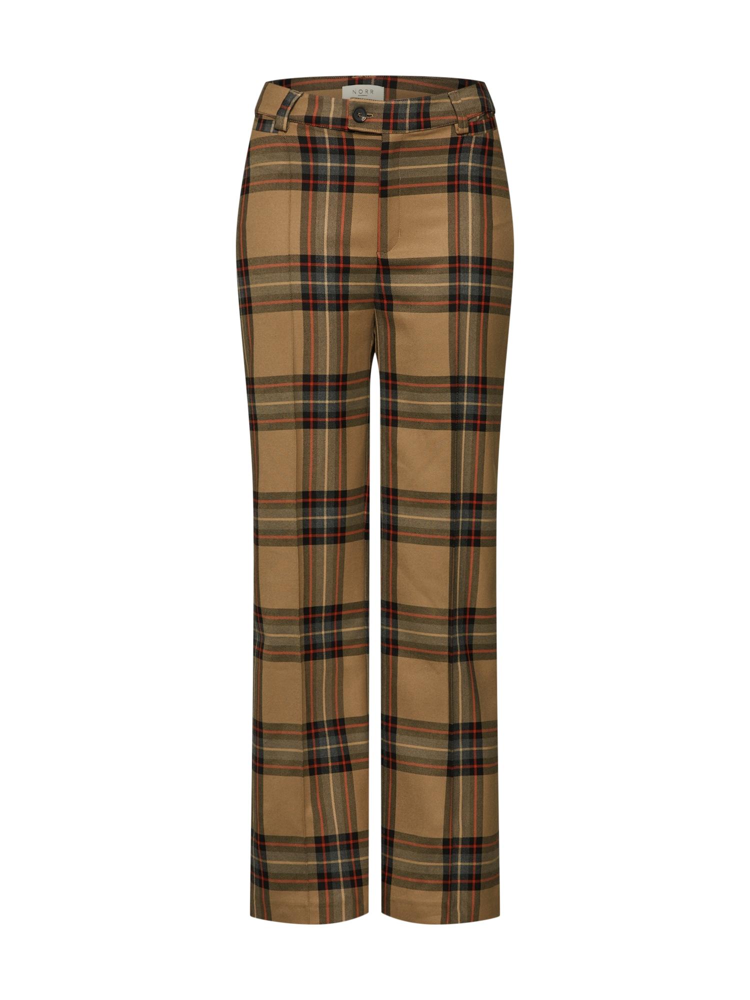 Kalhoty Karen Pants béžová NORR