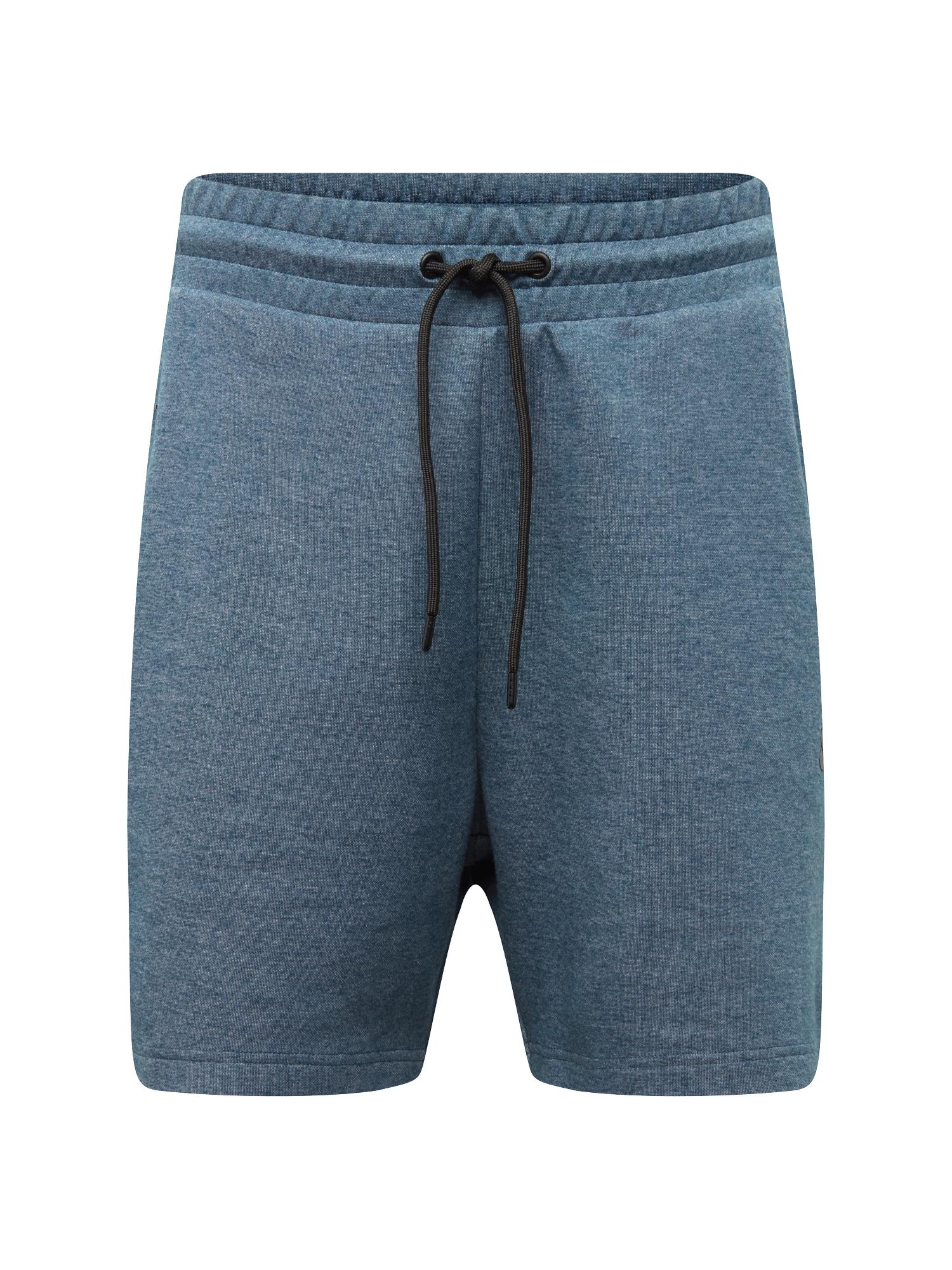 Kalhoty chladná modrá černá JACK & JONES