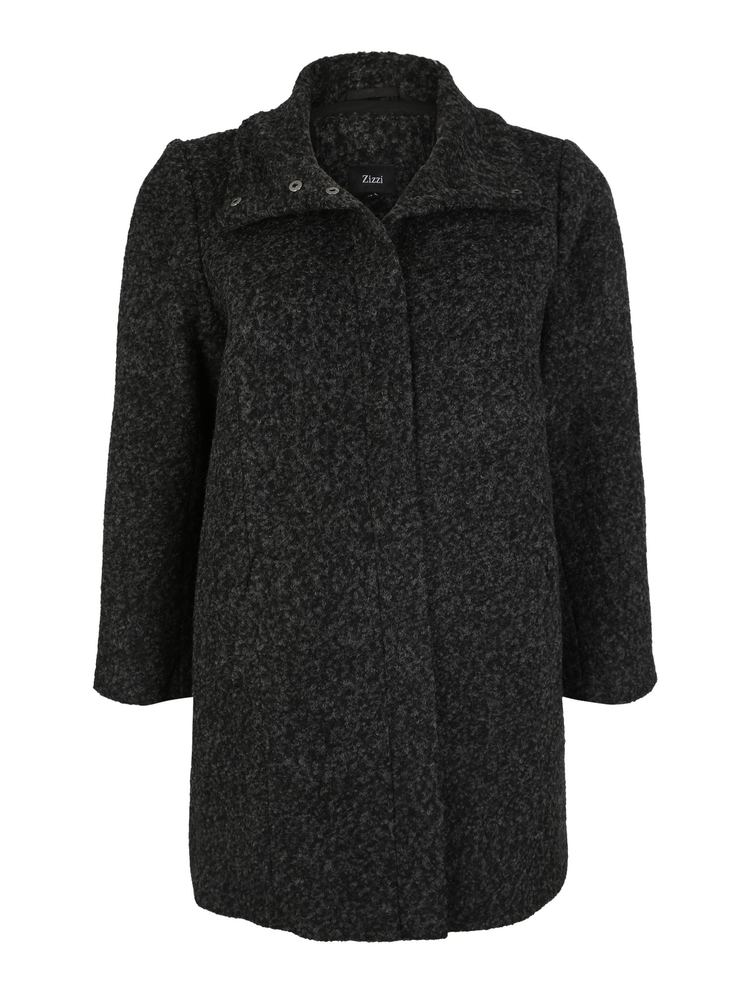 Přechodný kabát Coat LS tmavě šedá Zizzi