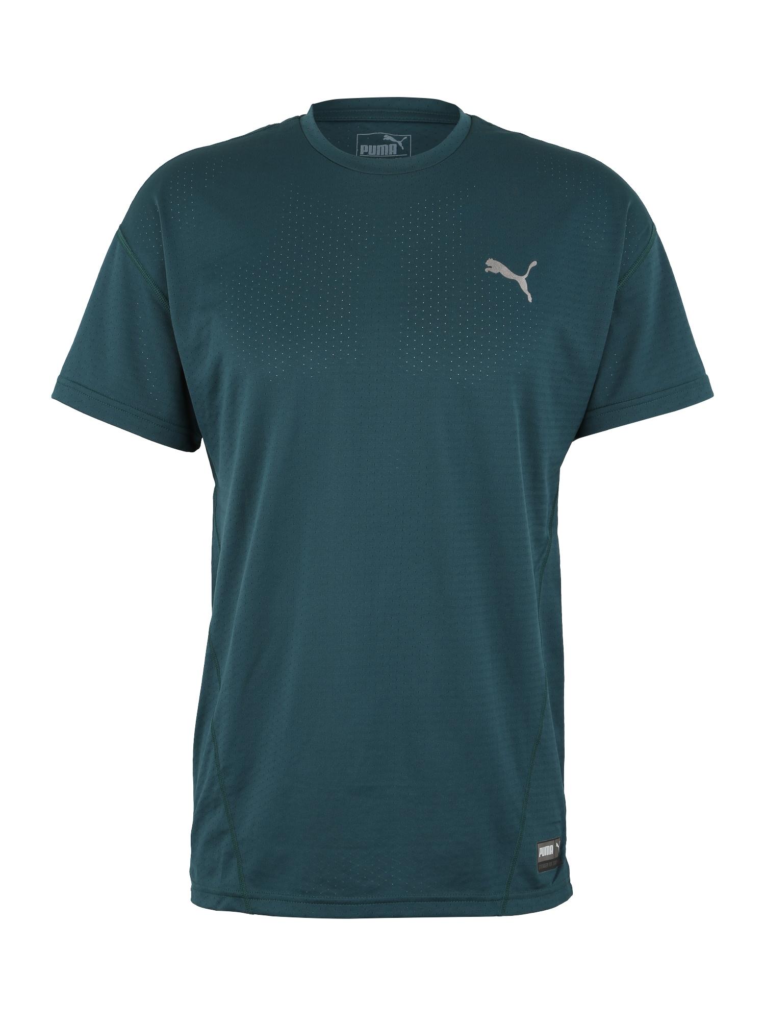 Funkční tričko A.C.E. tmavě zelená PUMA