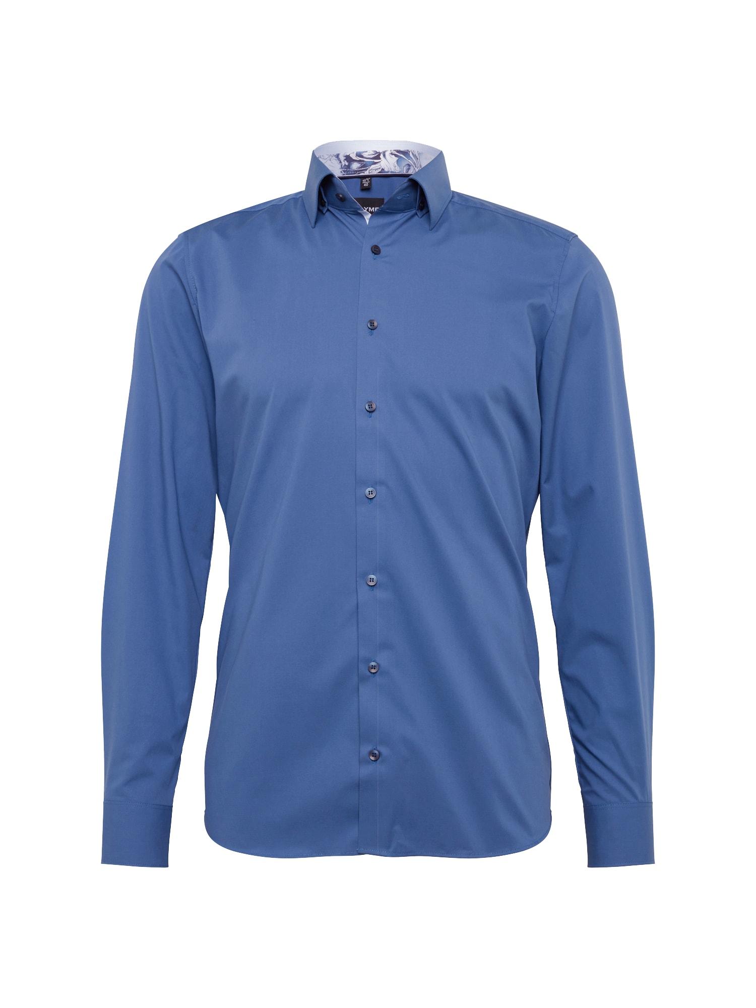 Košile Level 5 City Uni  modrá OLYMP