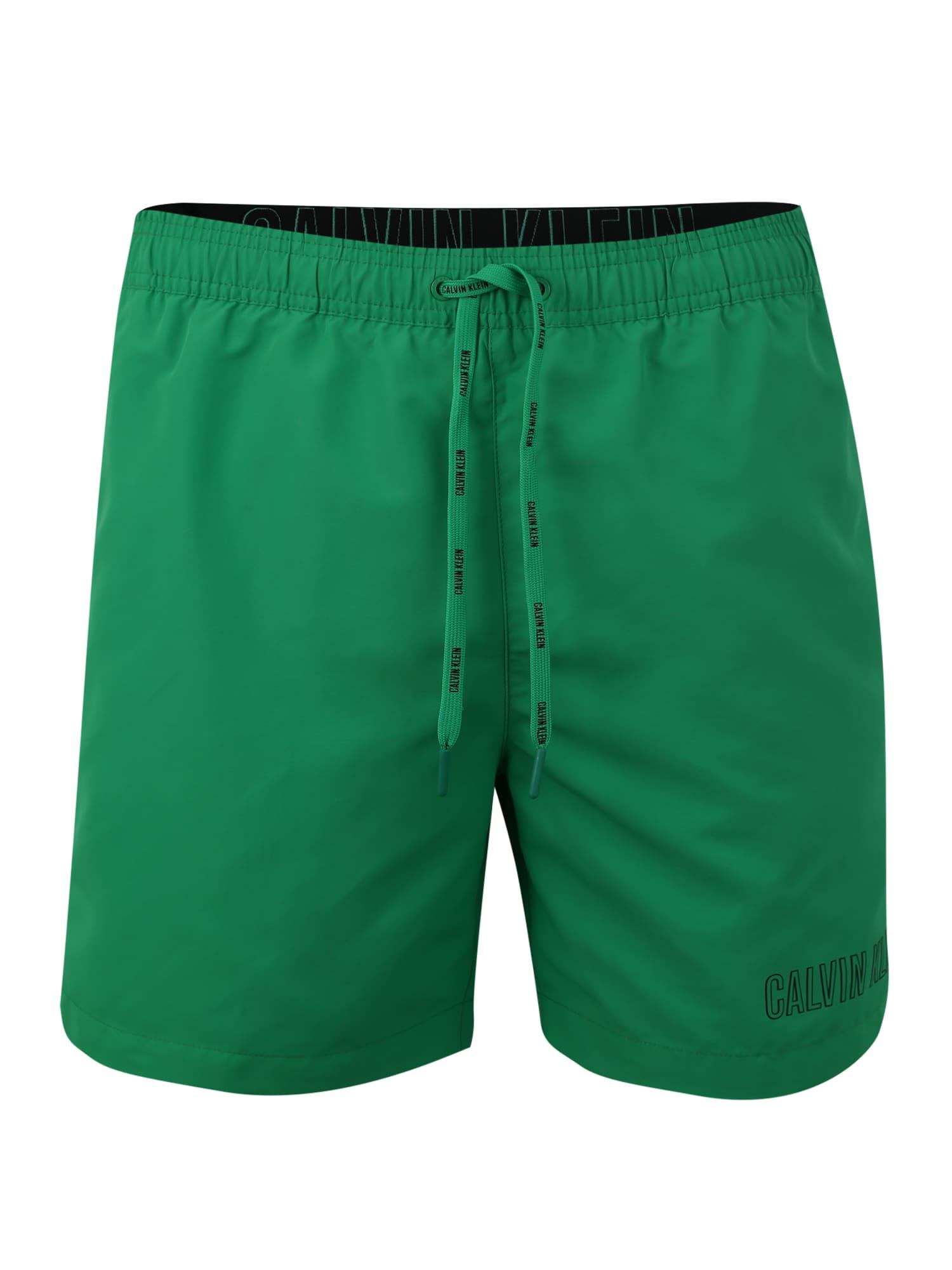 Plavecké šortky zelená Calvin Klein Swimwear