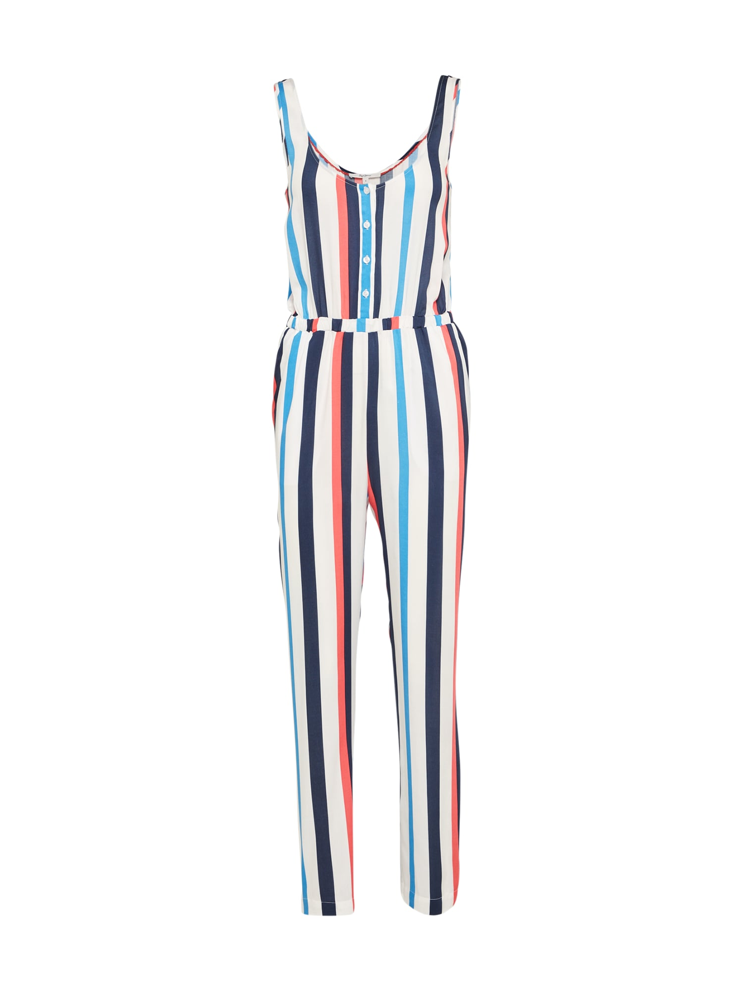 Pepe Jeans Dames Jumpsuit MARGOTA blauw rood wit