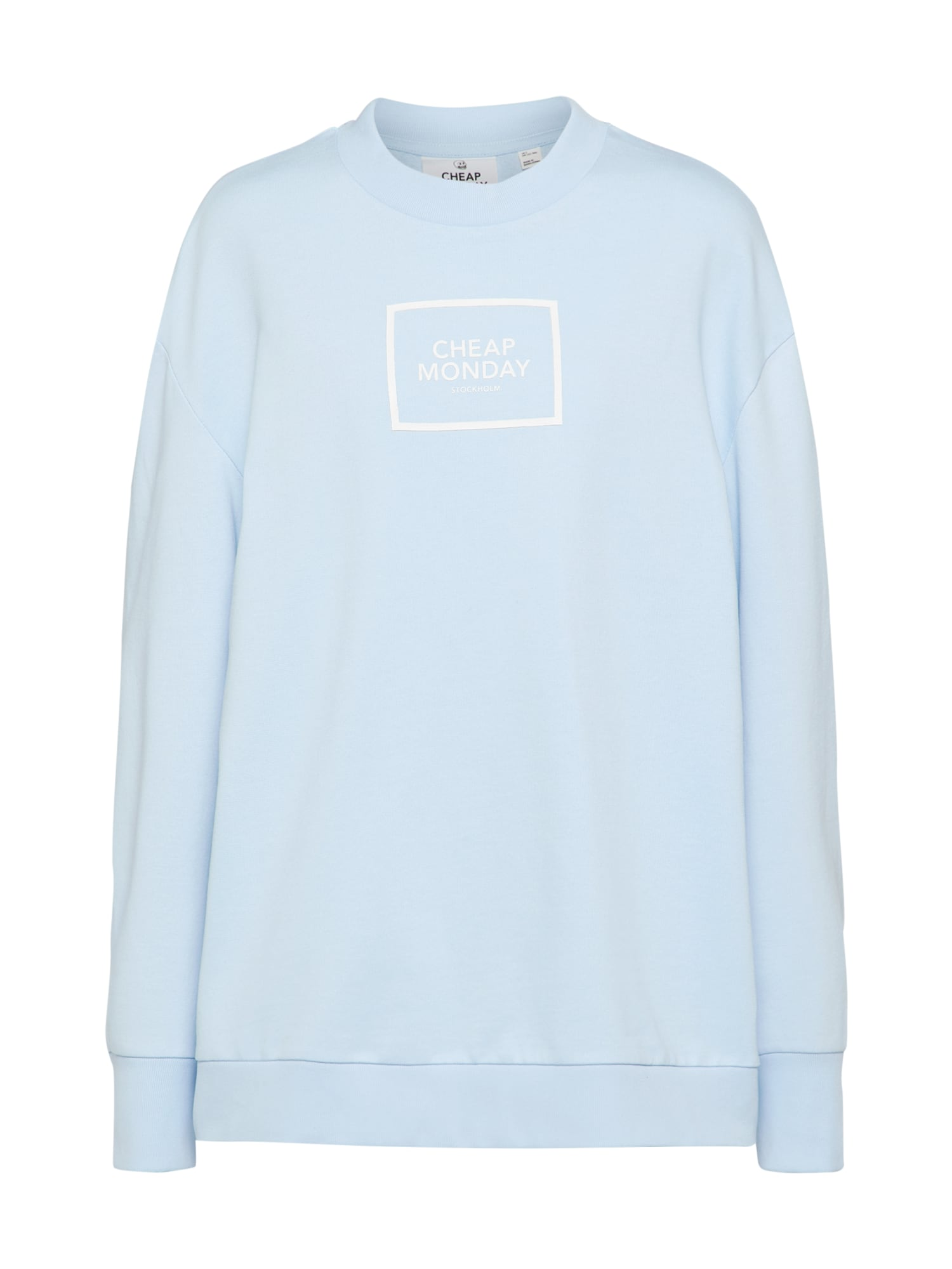 CHEAP MONDAY Dames Sweatshirt lichtblauw